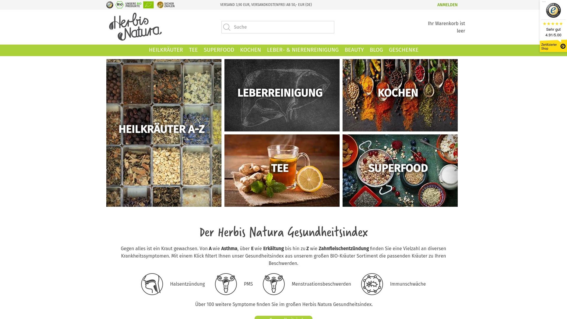 Gutschein für Herbisnatura: Rabatte für  Herbisnatura sichern