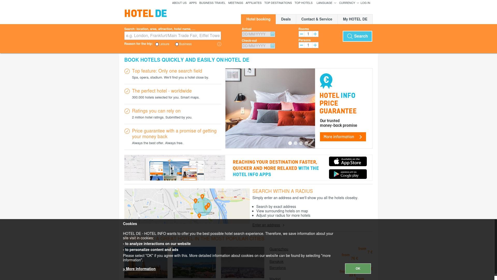 Gutschein für Hotel: Rabatte für  Hotel sichern