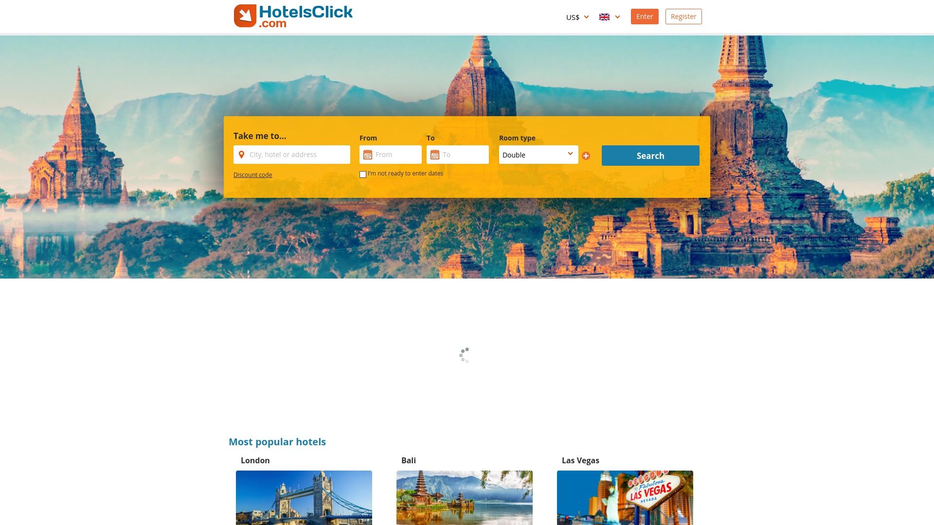 Gutschein für Hotelsclick: Rabatte für  Hotelsclick sichern
