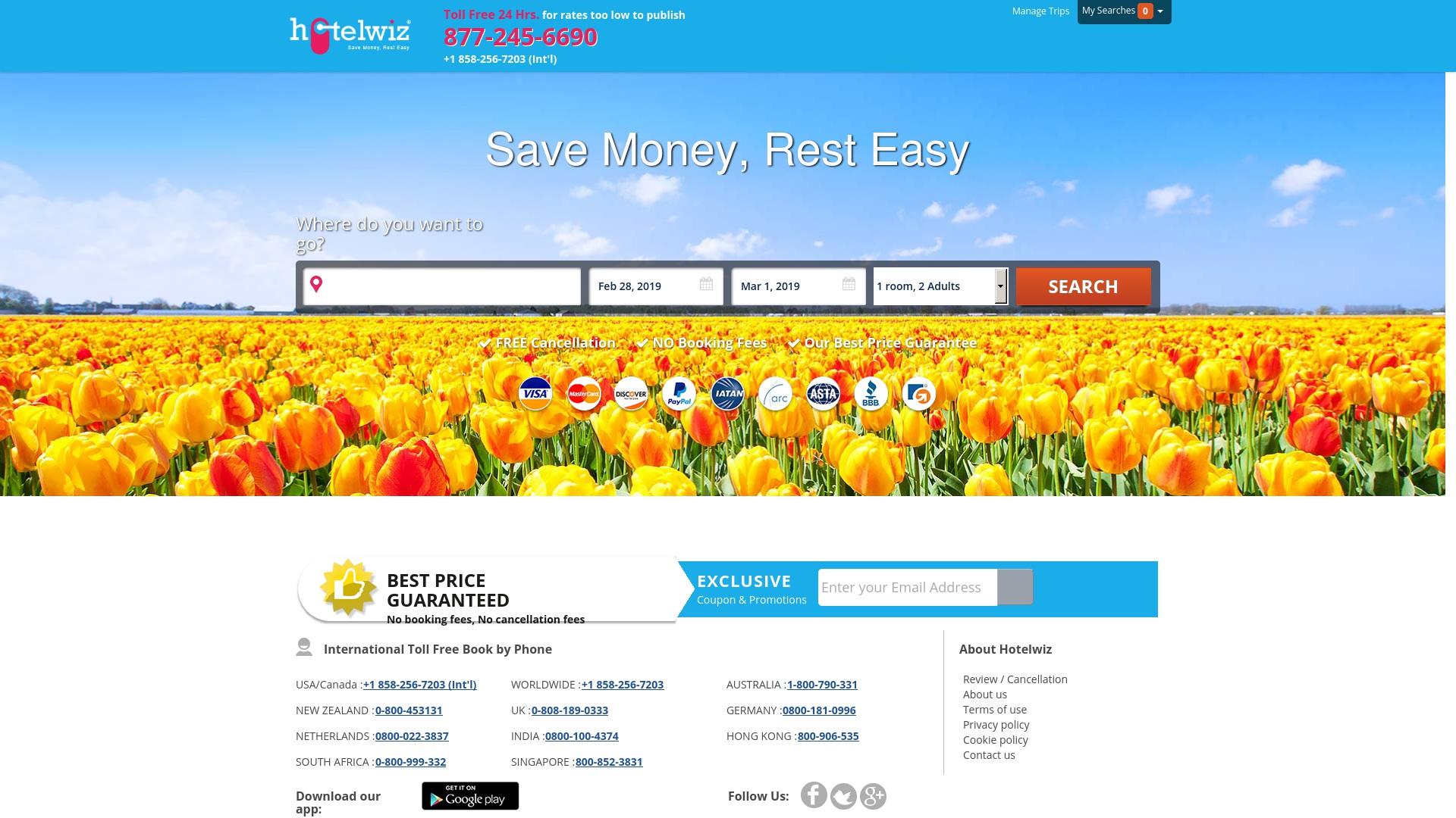 Gutschein für Hotelwiz: Rabatte für  Hotelwiz sichern