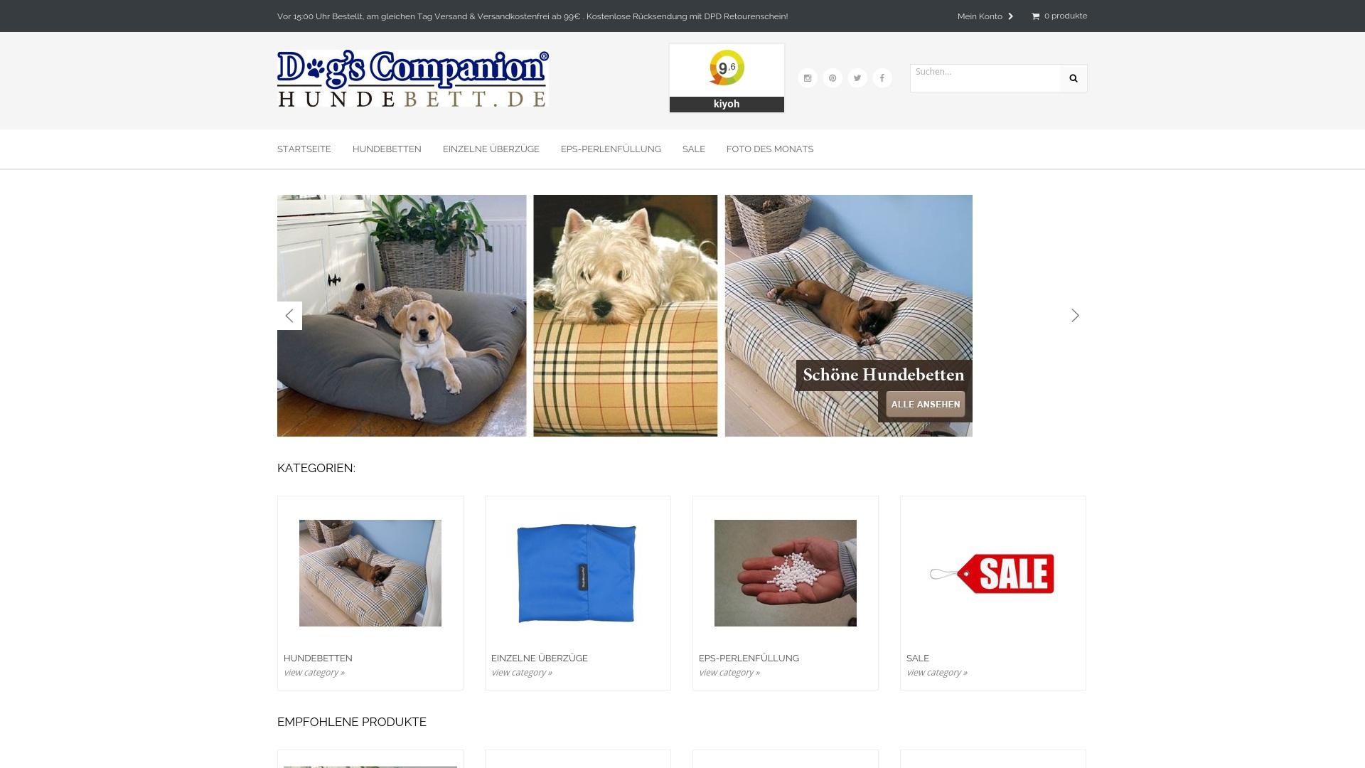 Gutschein für Hundebett: Rabatte für  Hundebett sichern
