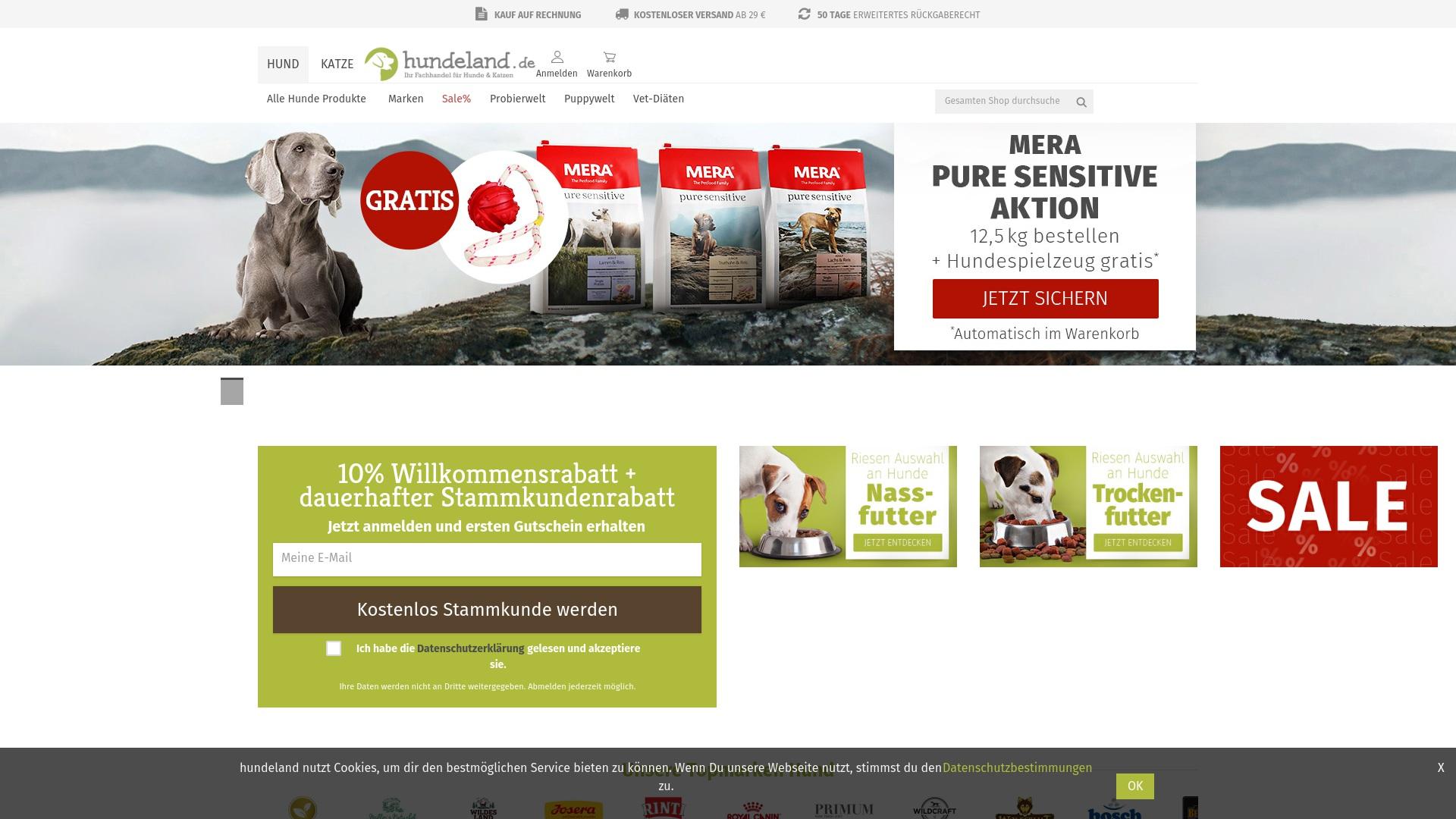 Gutschein für Hundeland: Rabatte für  Hundeland sichern