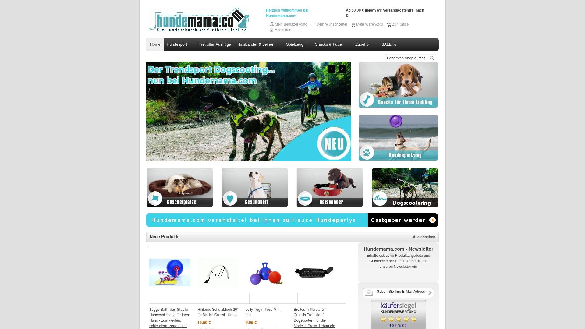 Gutschein für Hundemama: Rabatte für  Hundemama sichern