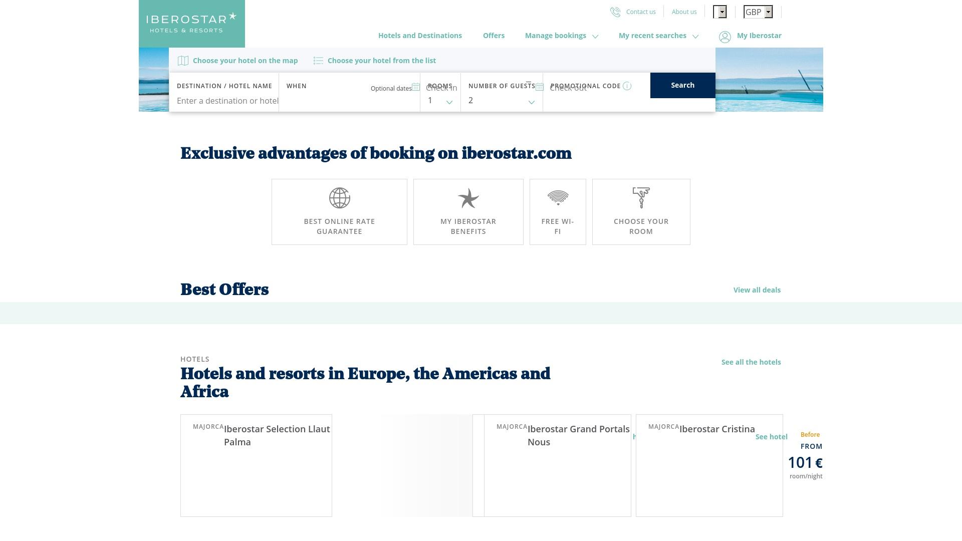 Gutschein für Iberostar: Rabatte für  Iberostar sichern