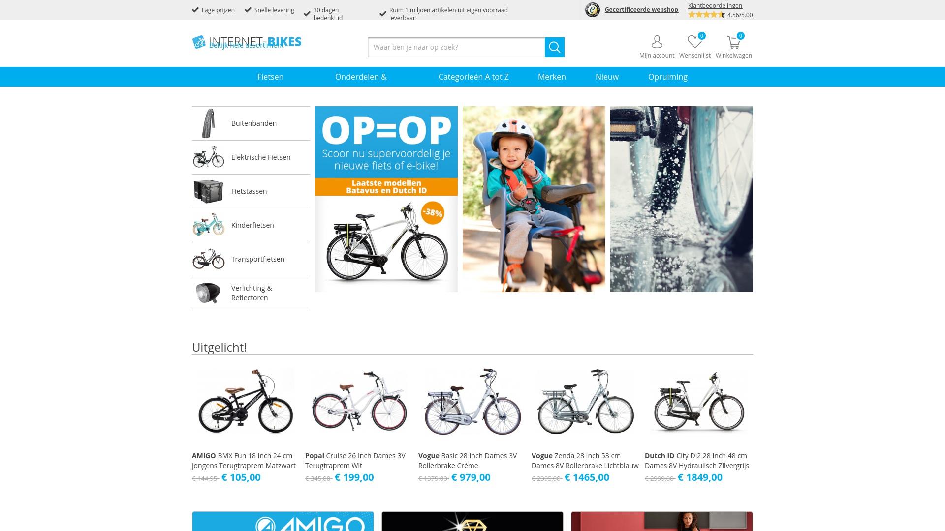 Gutschein für Internet-bikes: Rabatte für  Internet-bikes sichern