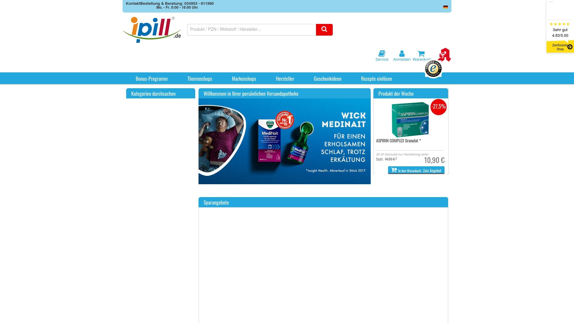 Gutschein für Ipill: Rabatte für  Ipill sichern