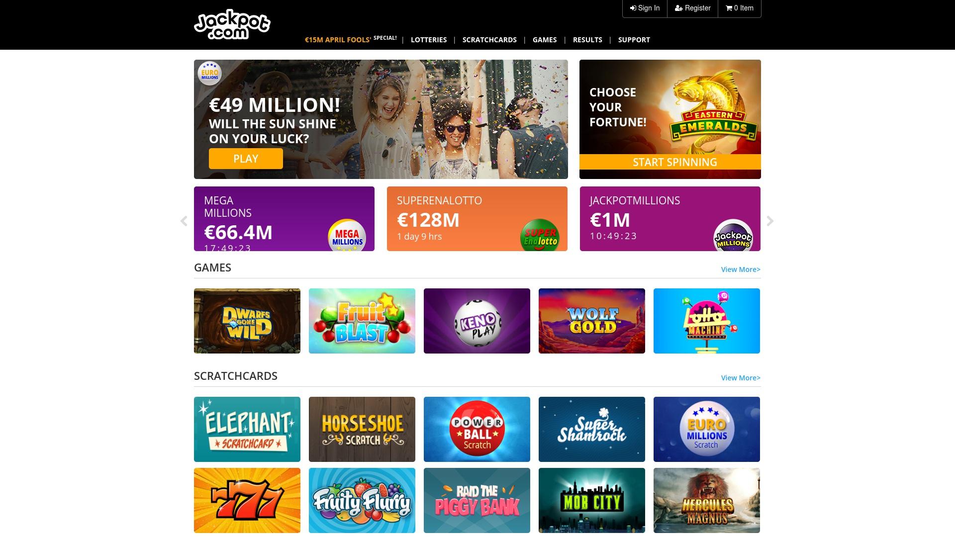Gutschein für Jackpot: Rabatte für  Jackpot sichern