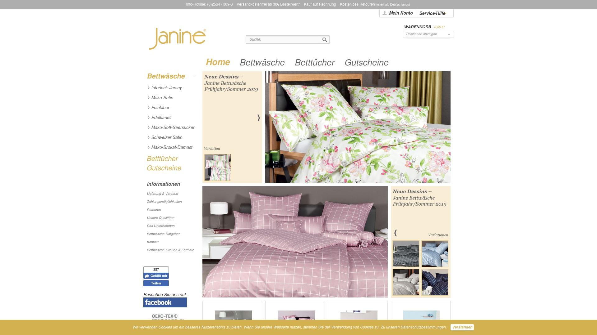 Gutschein für Janine: Rabatte für  Janine sichern
