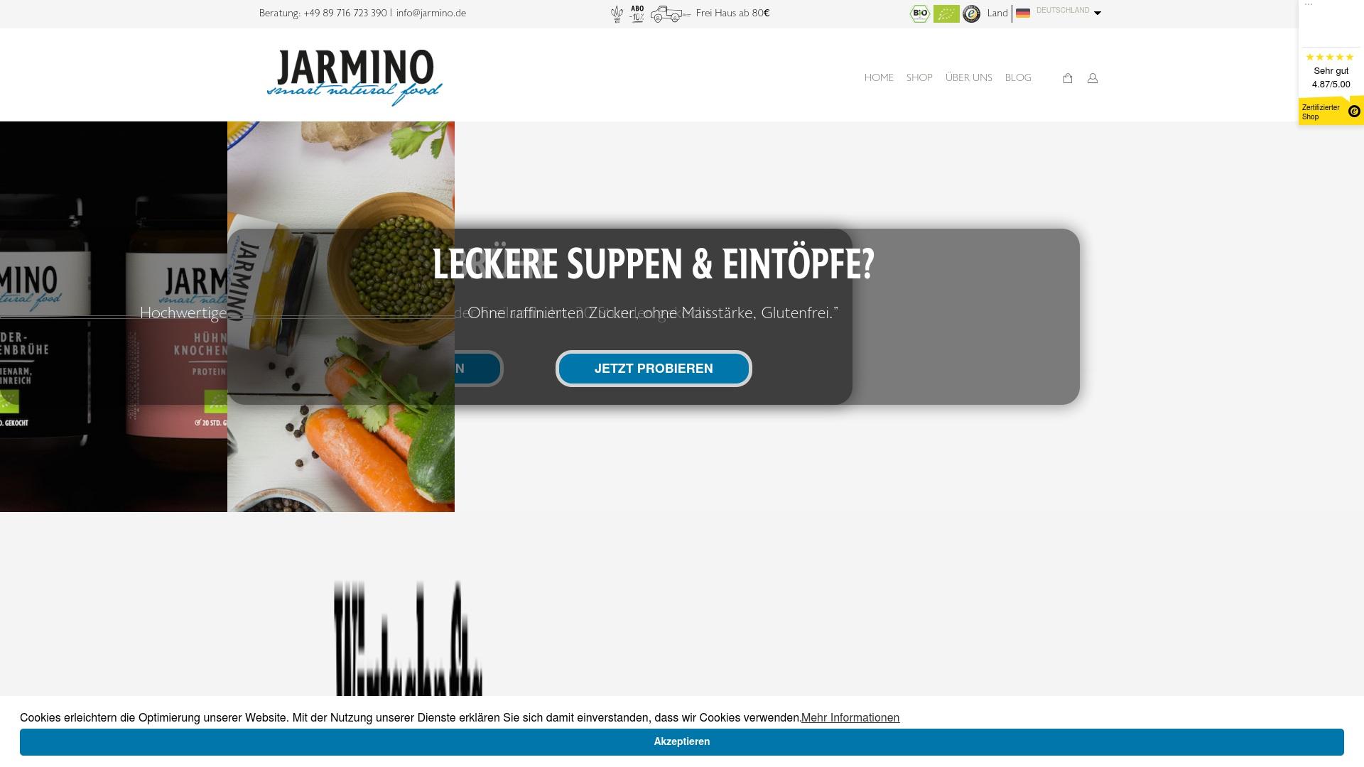 Gutschein für Jarmino: Rabatte für  Jarmino sichern