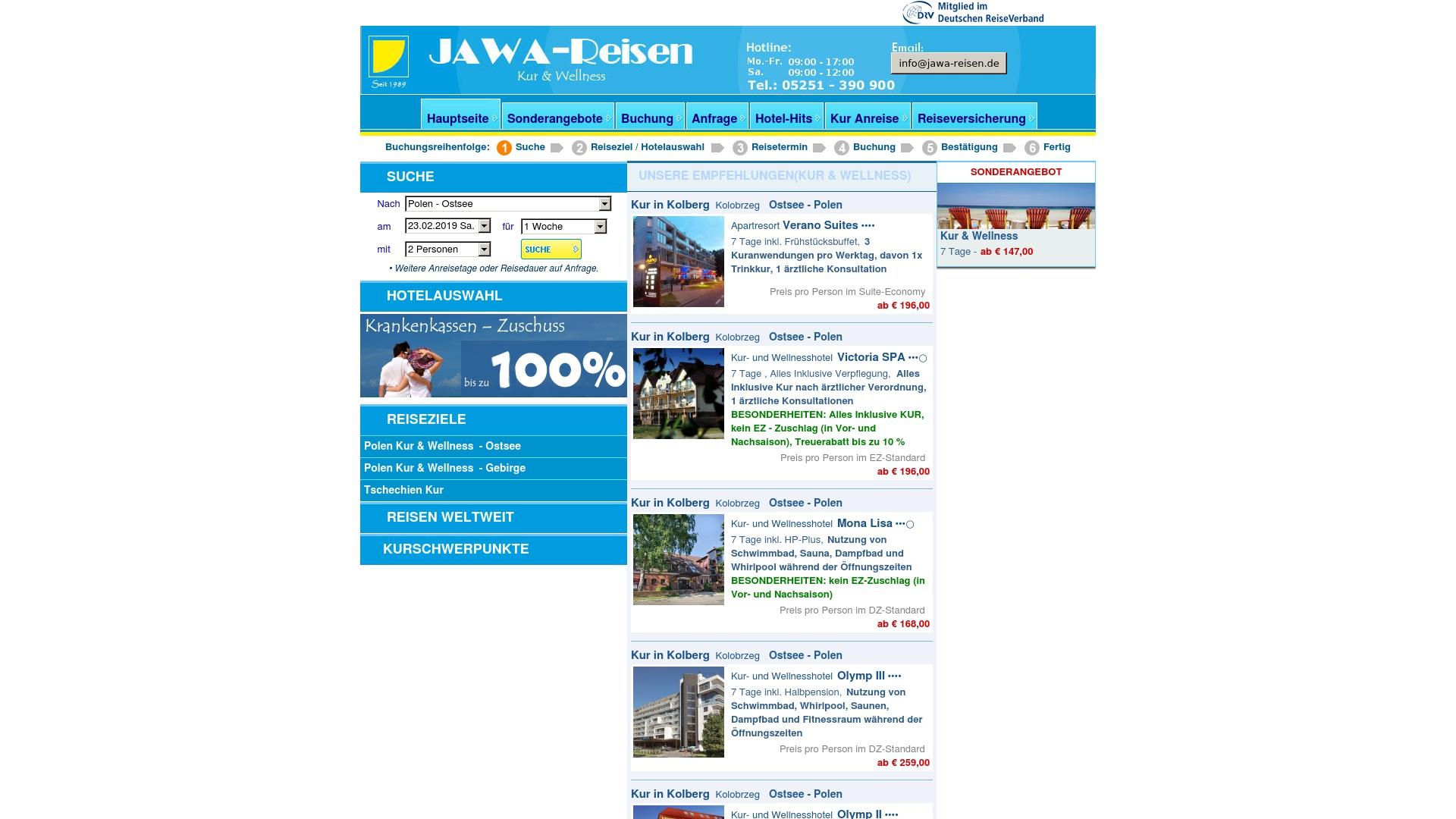 Gutschein für Jawa-reisen: Rabatte für  Jawa-reisen sichern