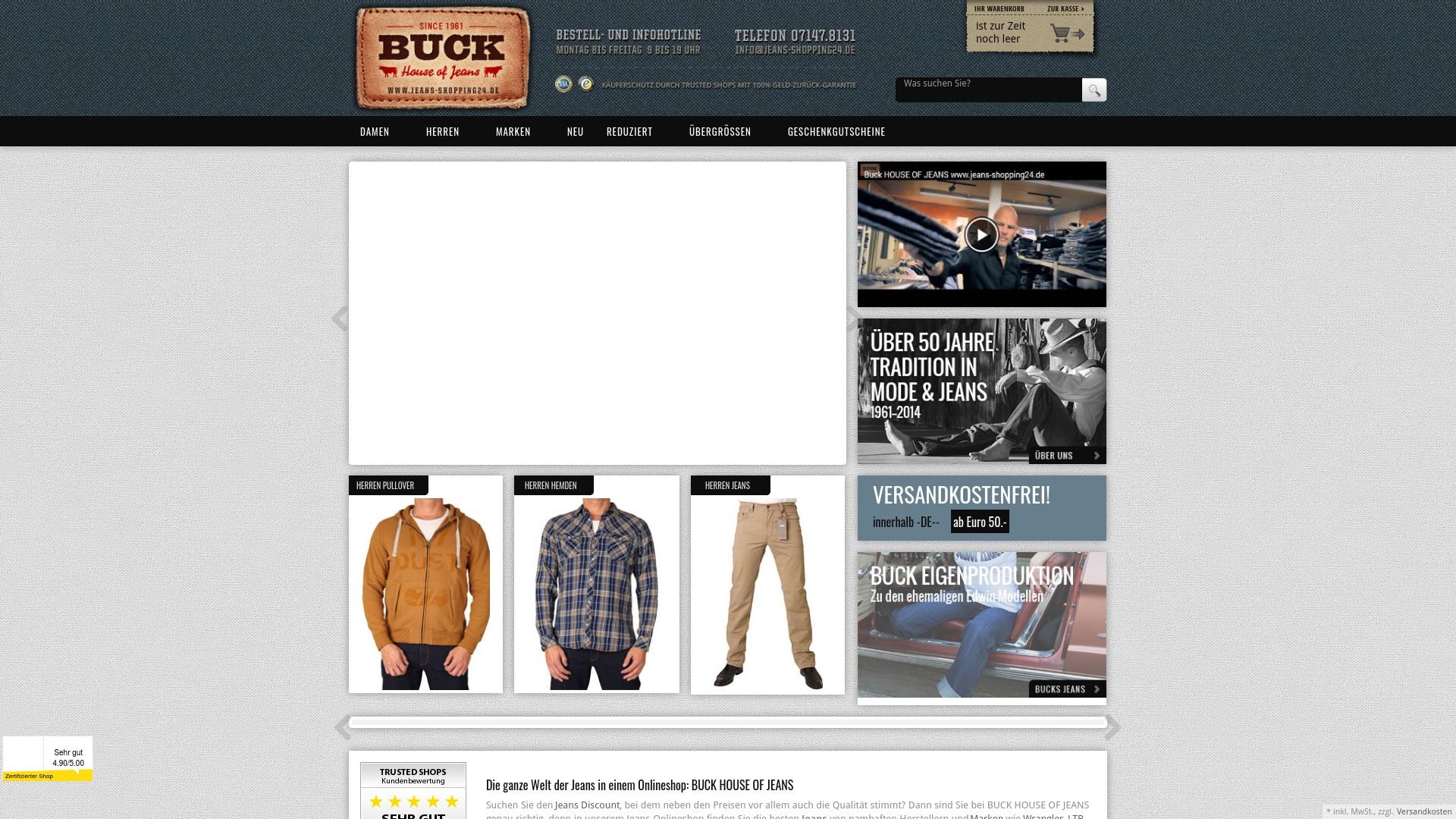 Gutschein für Jeans-shopping24: Rabatte für  Jeans-shopping24 sichern