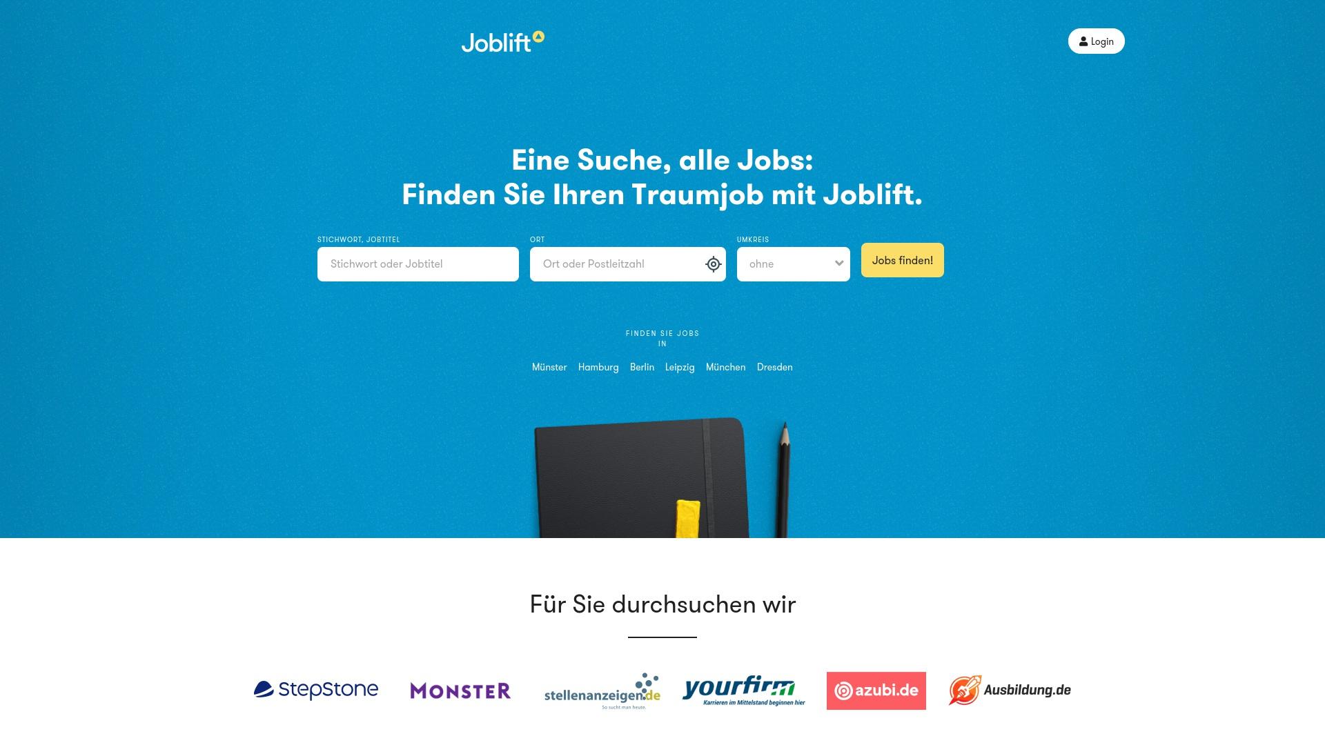 Gutschein für Joblift: Rabatte für  Joblift sichern