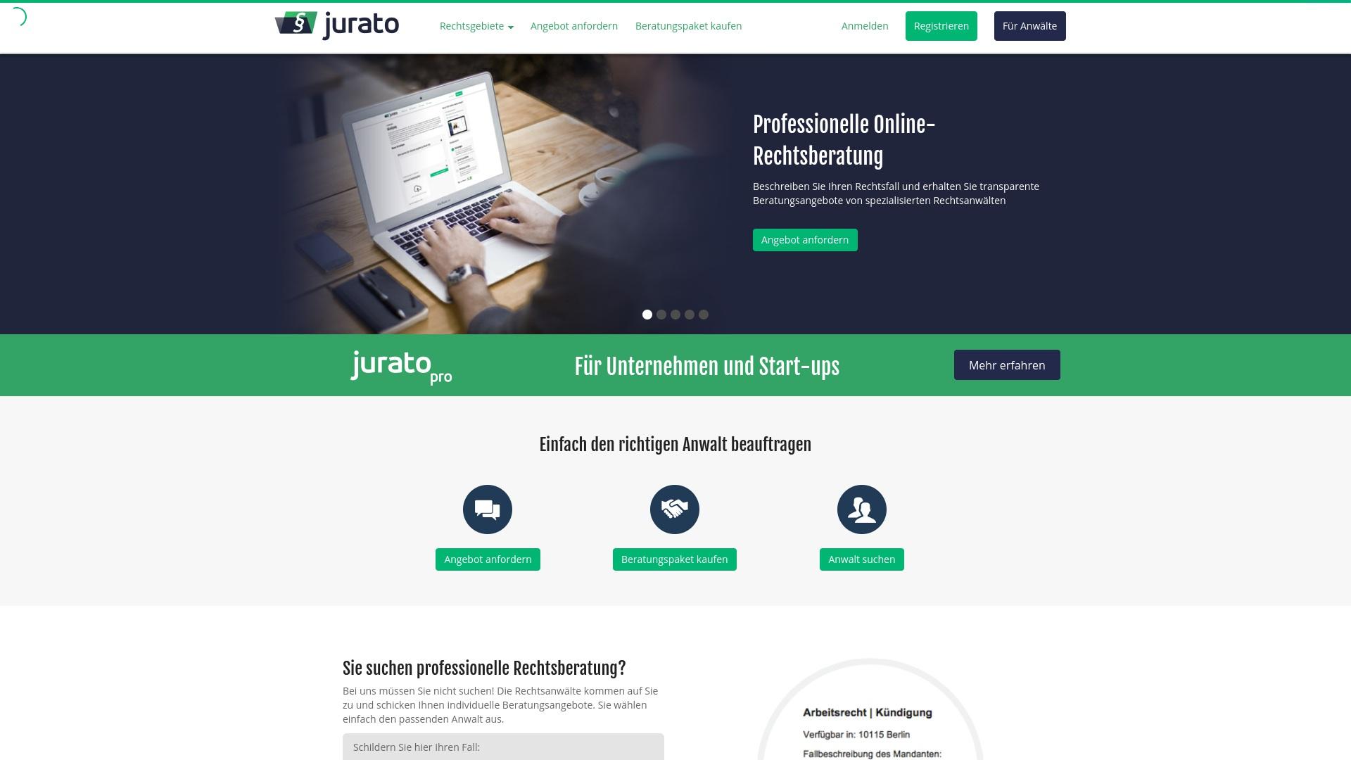 Gutschein für Jurato: Rabatte für  Jurato sichern