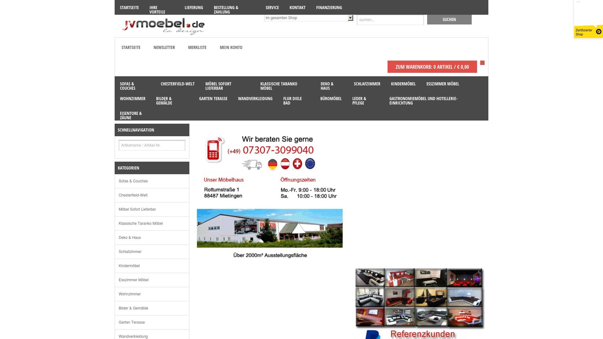 Gutschein für Jvmoebel: Rabatte für  Jvmoebel sichern