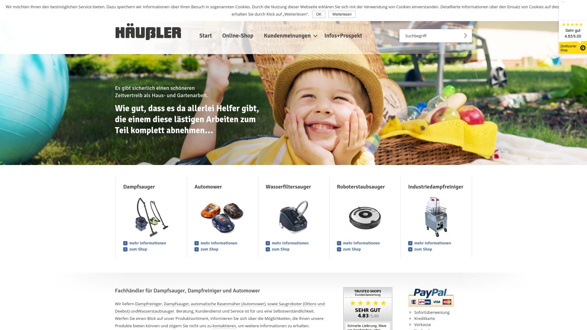 Gutschein für Karlhaeussler: Rabatte für  Karlhaeussler sichern