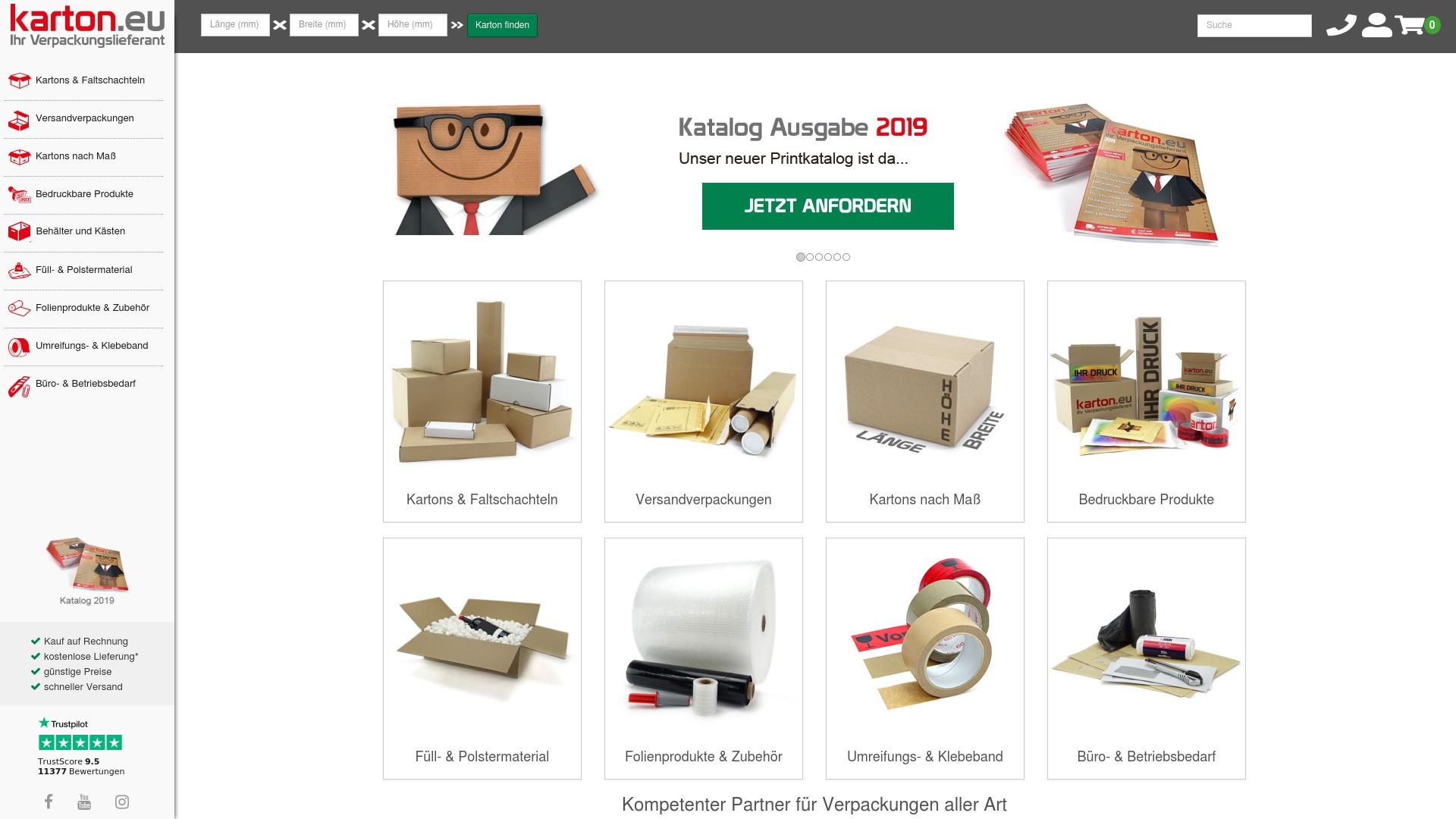 Gutschein für Karton: Rabatte für  Karton sichern