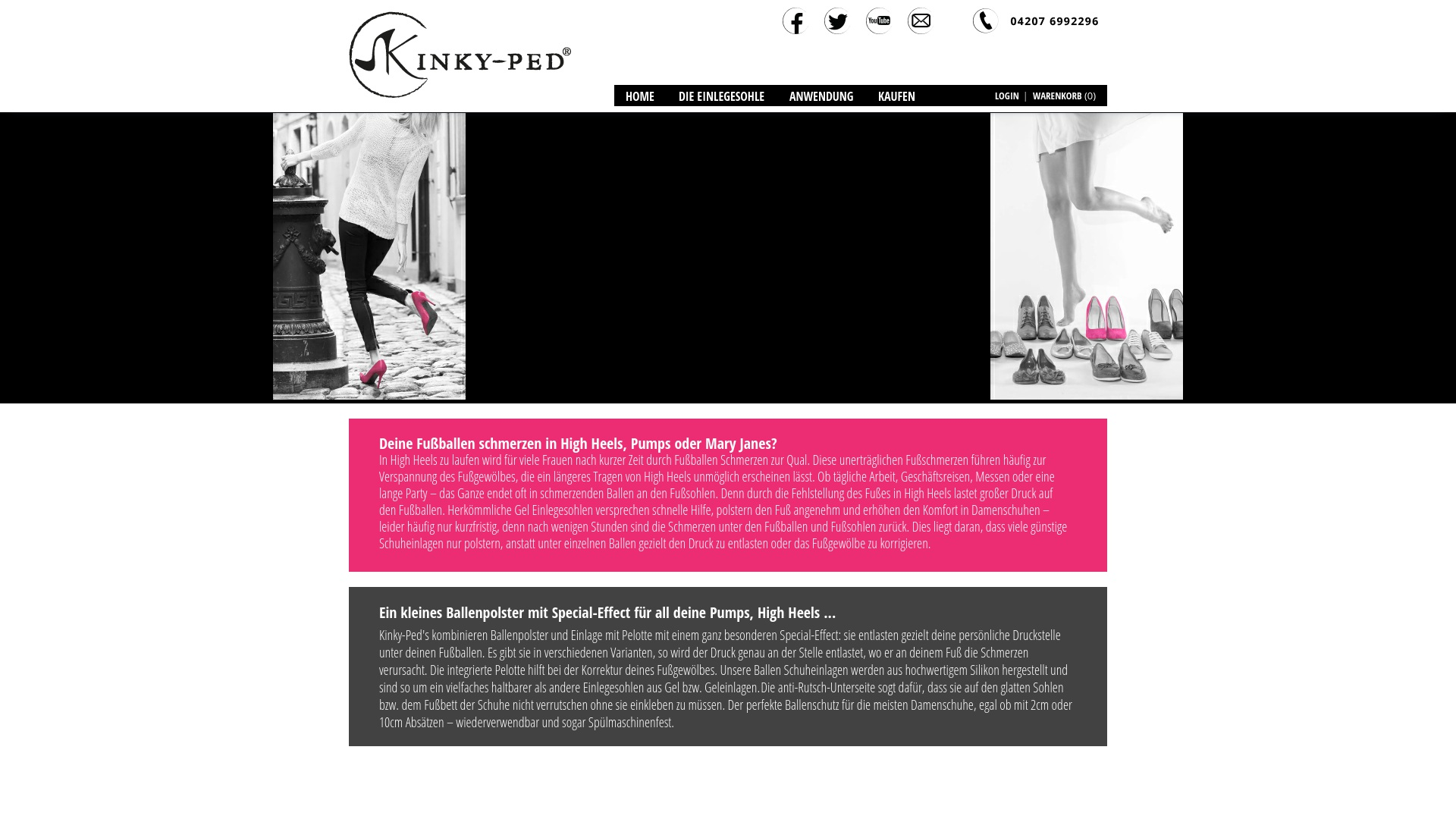 Gutschein für Kinky-ped: Rabatte für  Kinky-ped sichern