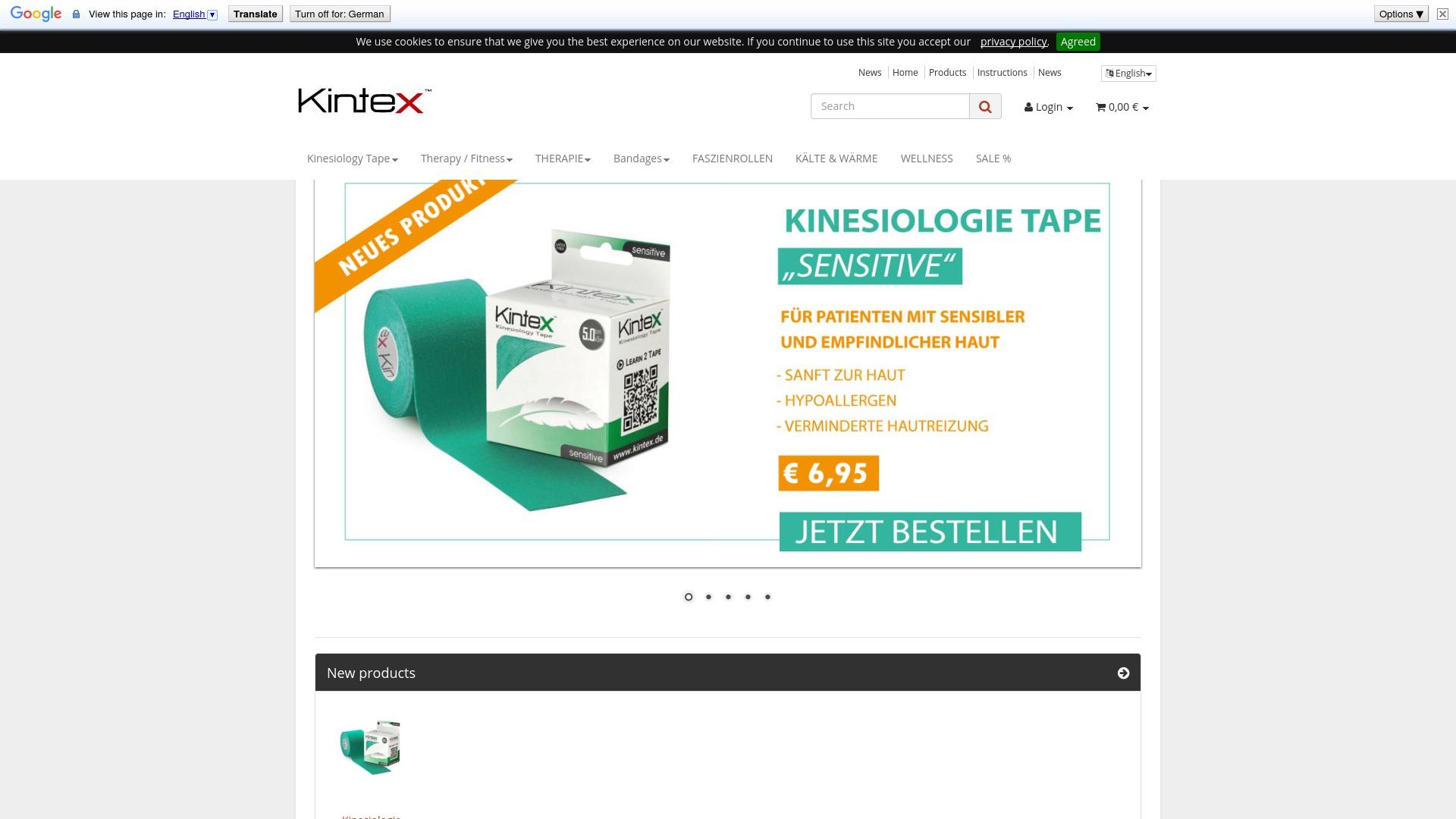Gutschein für Kintex: Rabatte für  Kintex sichern