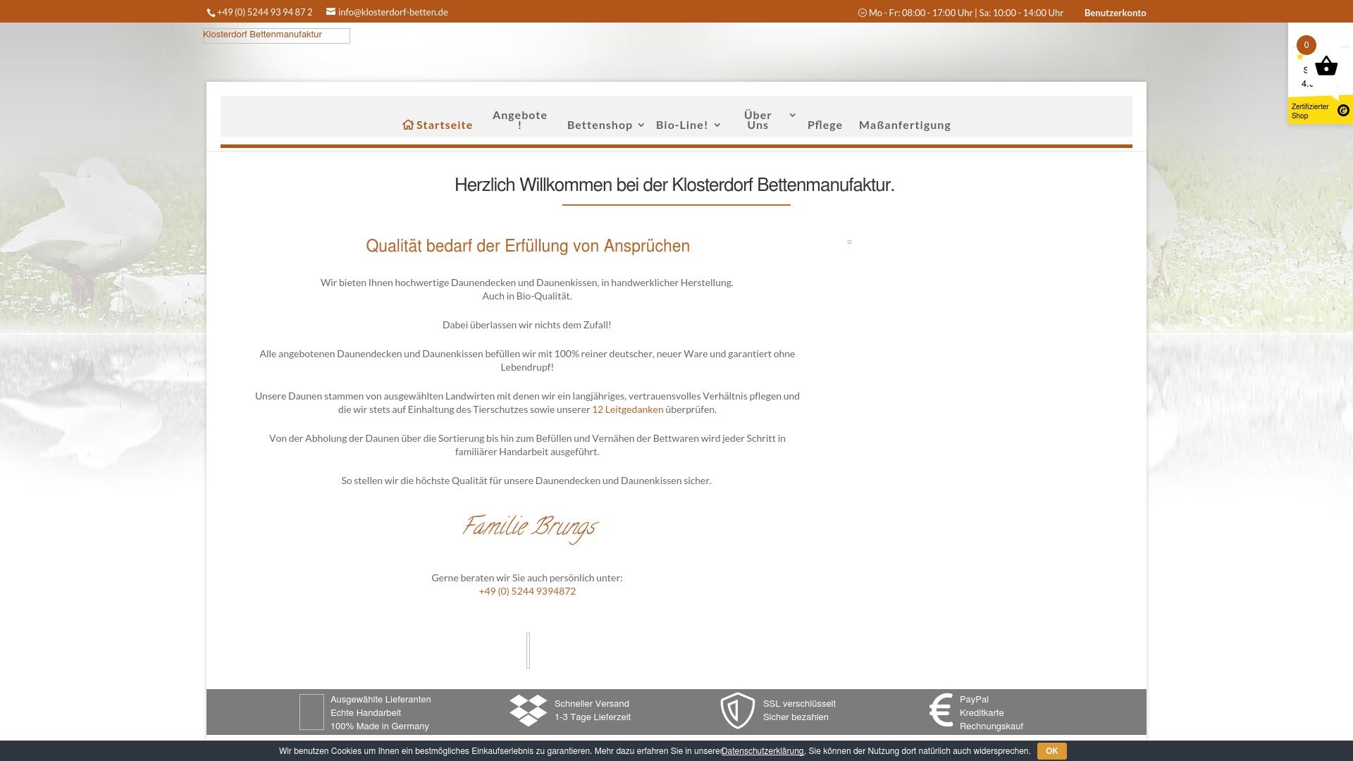 Gutschein für Klosterdorf-betten: Rabatte für  Klosterdorf-betten sichern