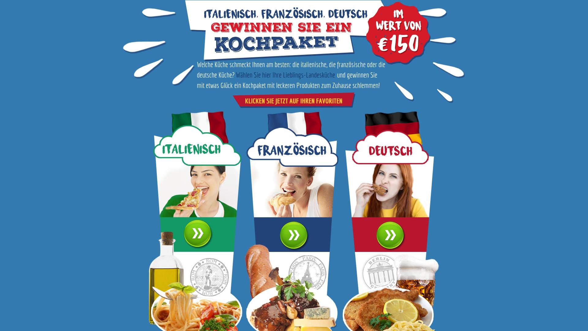 Gutschein für Kochenpaket: Rabatte für  Kochenpaket sichern