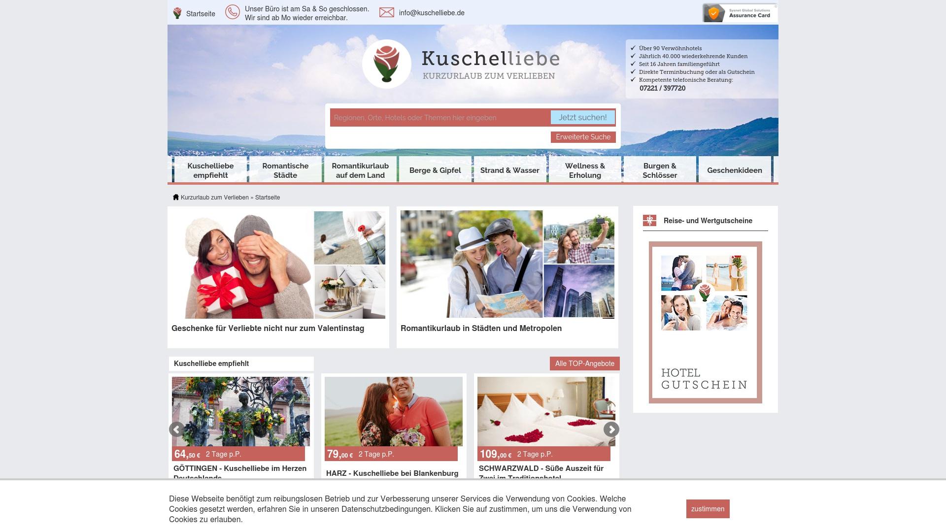 Gutschein für Kuschelliebe: Rabatte für  Kuschelliebe sichern