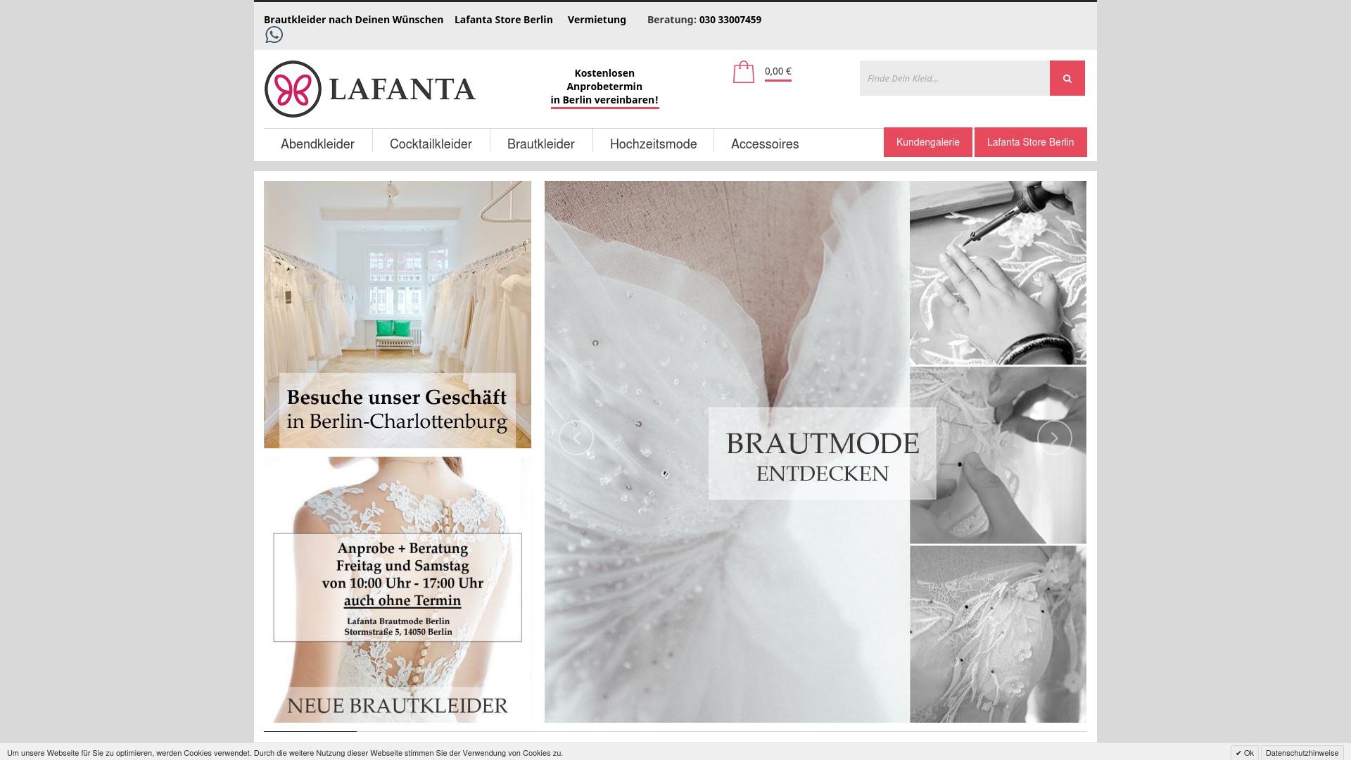 Gutschein für Lafanta: Rabatte für  Lafanta sichern