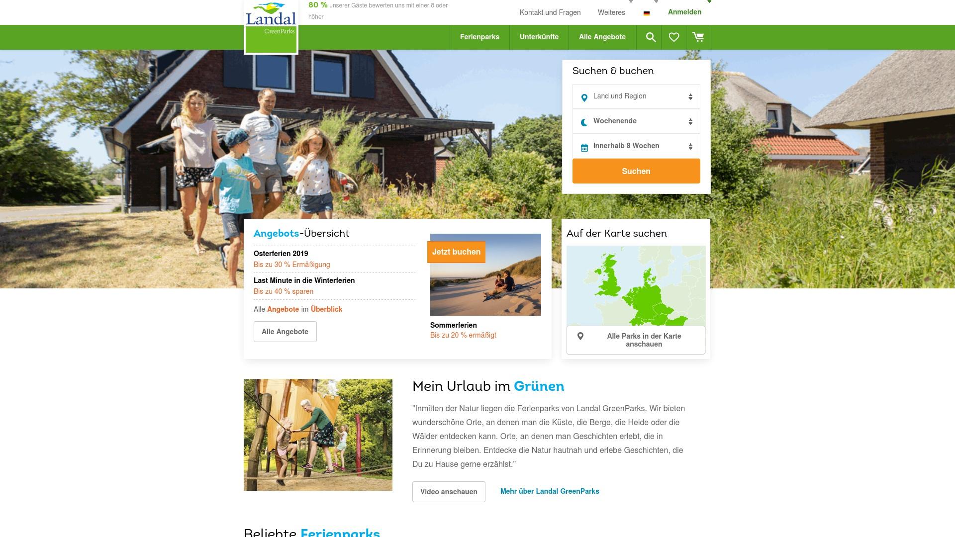 Gutschein für Landal: Rabatte für  Landal sichern