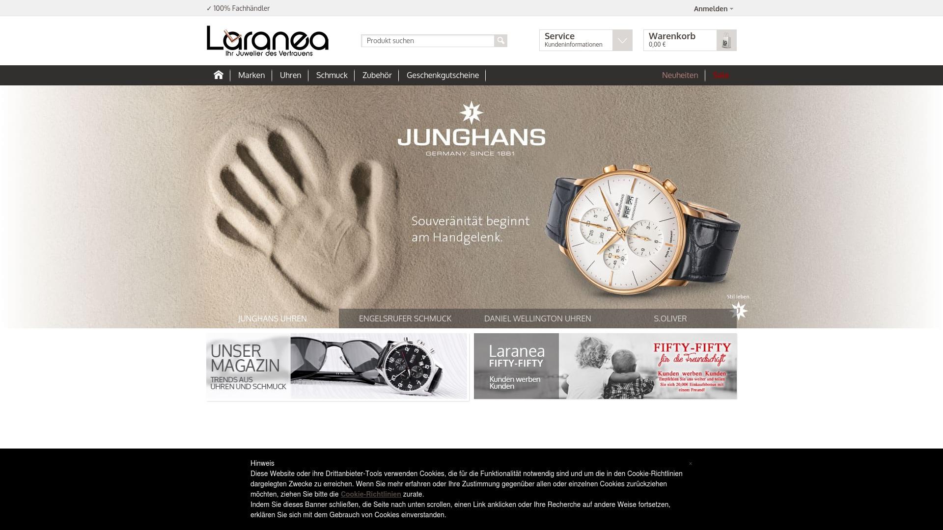 Gutschein für Laranea: Rabatte für  Laranea sichern