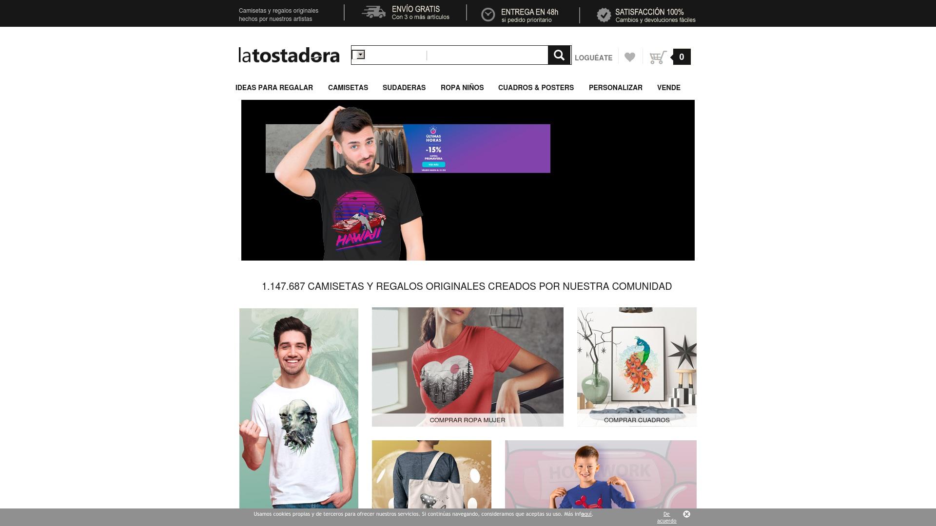 Gutschein für Latostadora: Rabatte für  Latostadora sichern