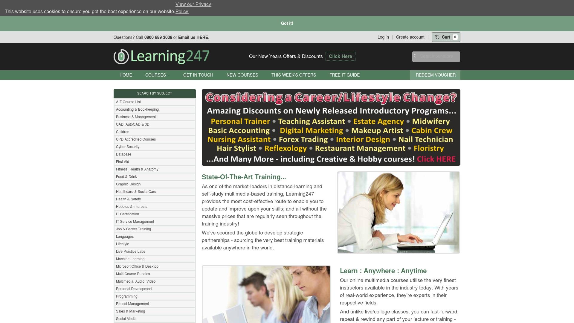 Gutschein für Learning247: Rabatte für  Learning247 sichern