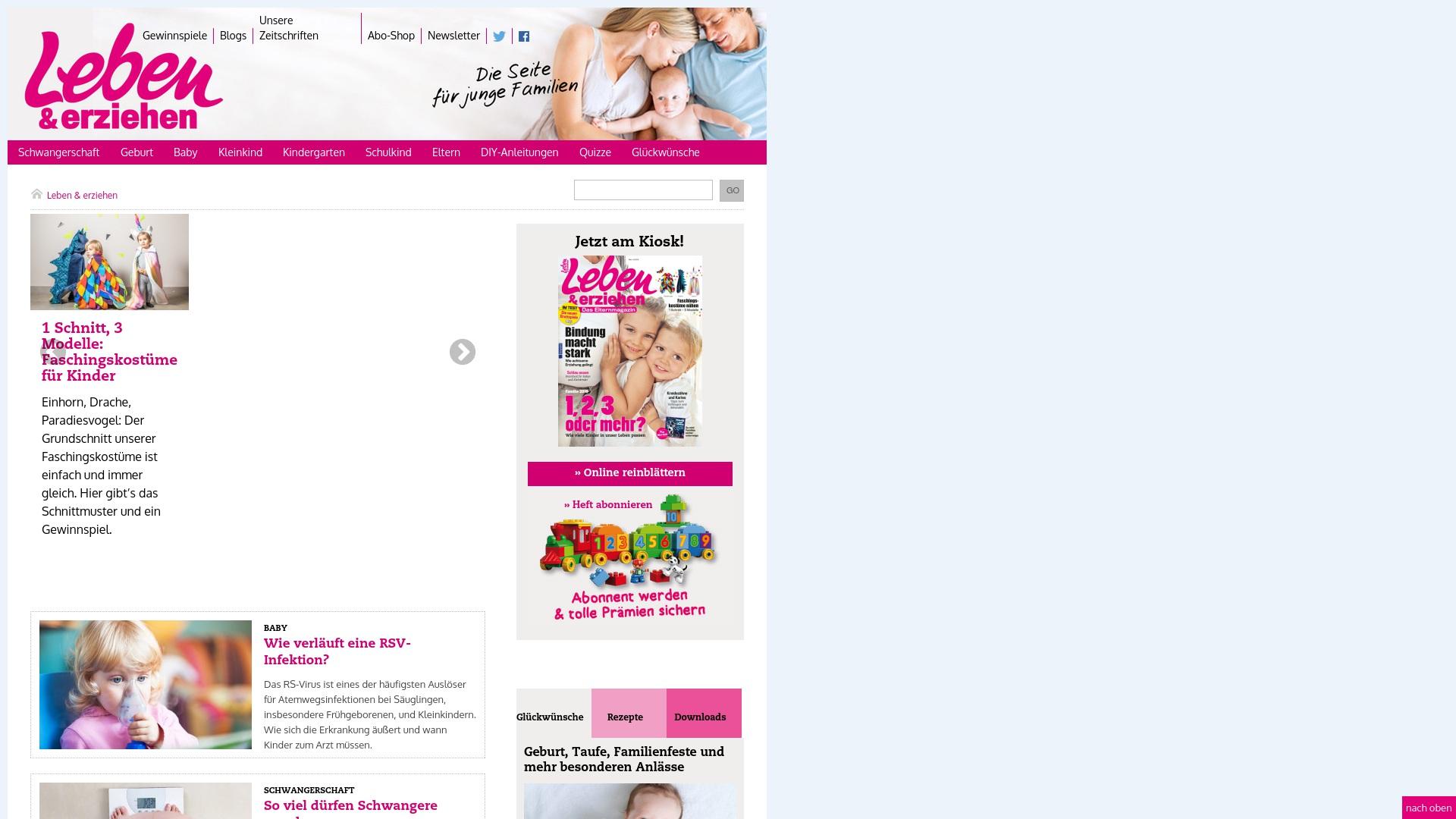 Gutschein für Leben-und-erziehen: Rabatte für  Leben-und-erziehen sichern