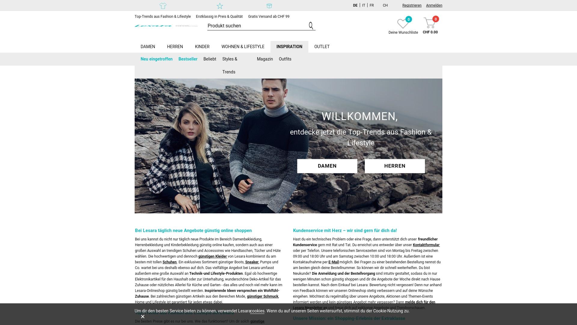 Gutschein für Lesara: Rabatte für  Lesara sichern