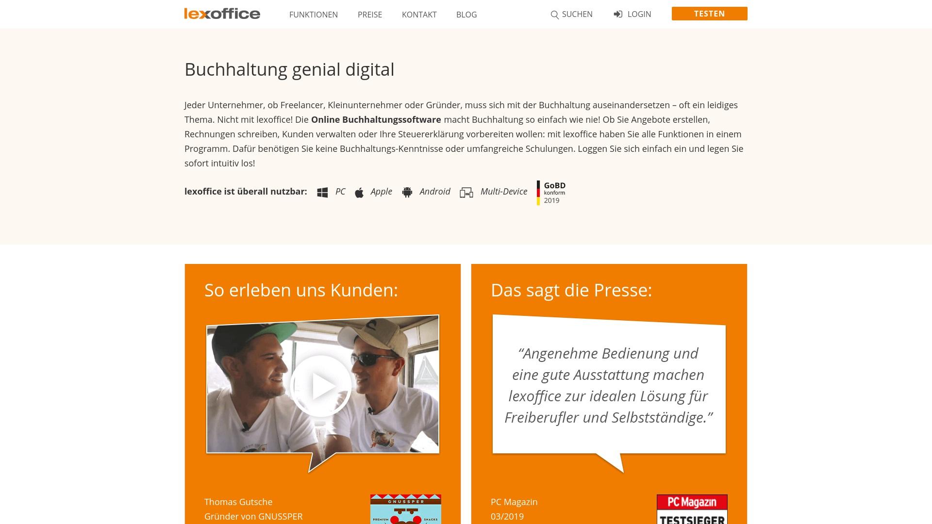Gutschein für Lexoffice: Rabatte für  Lexoffice sichern