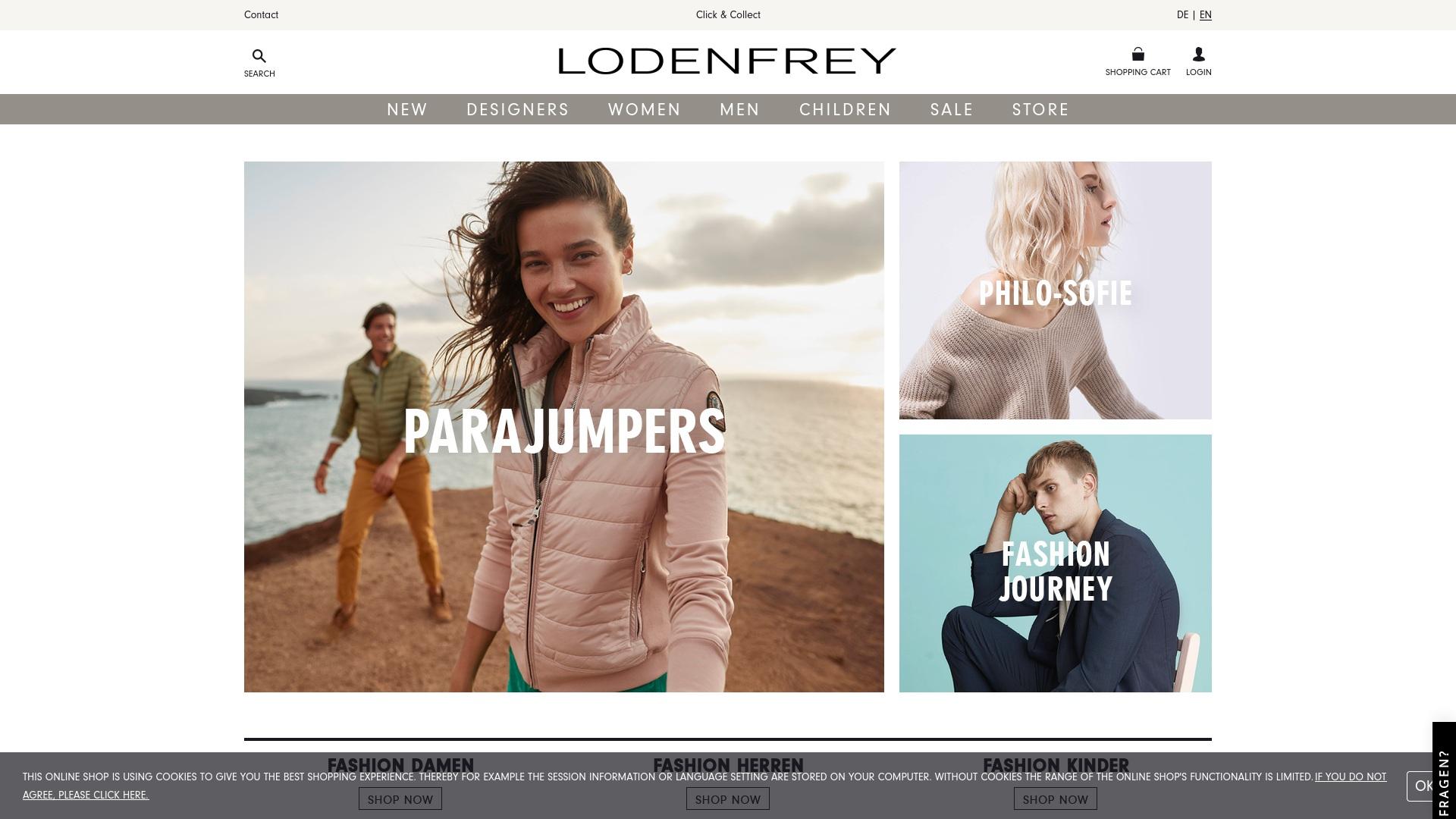 Gutschein für Lodenfrey: Rabatte für  Lodenfrey sichern