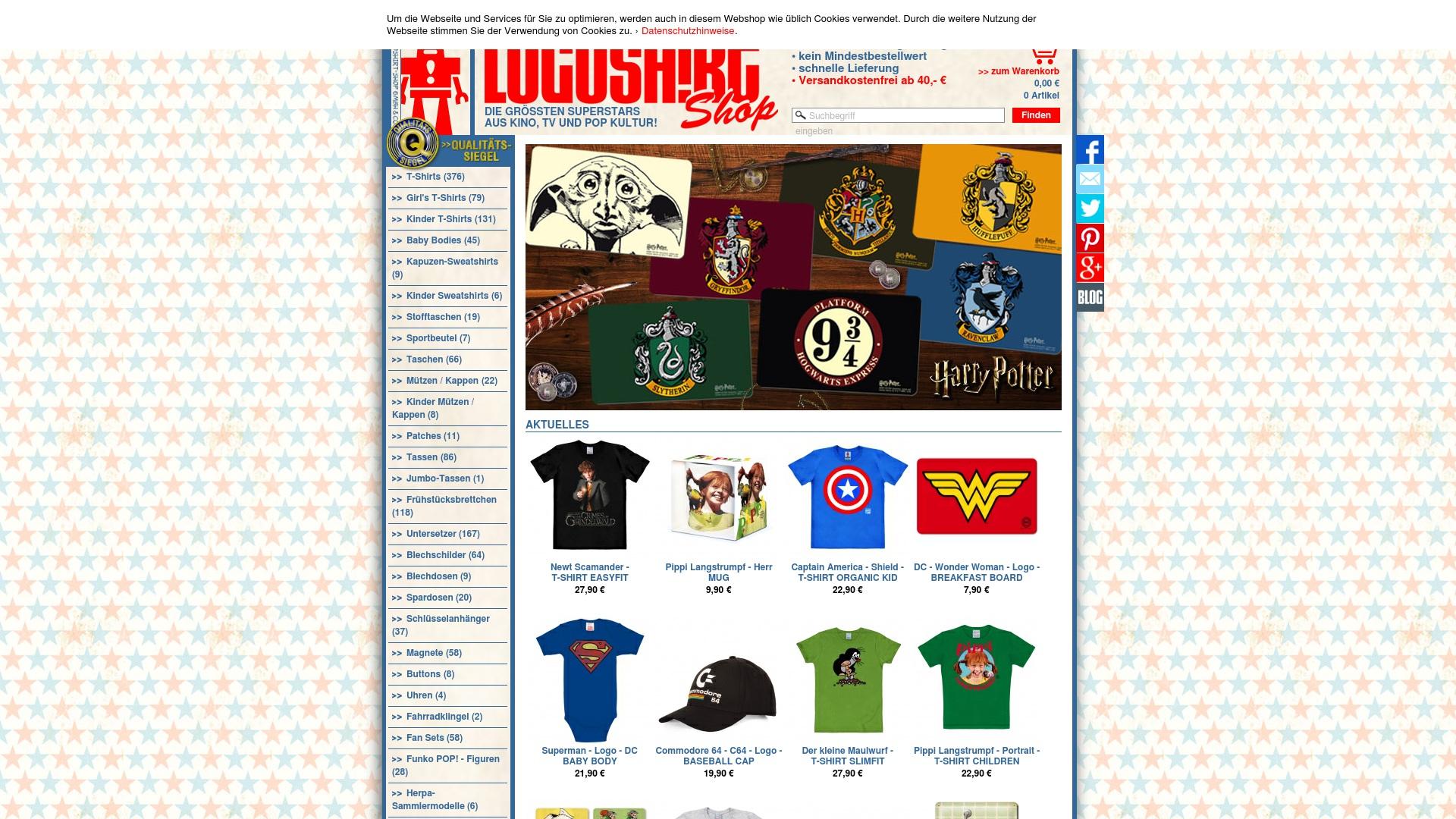 Gutschein für Logoshirt-shop: Rabatte für  Logoshirt-shop sichern