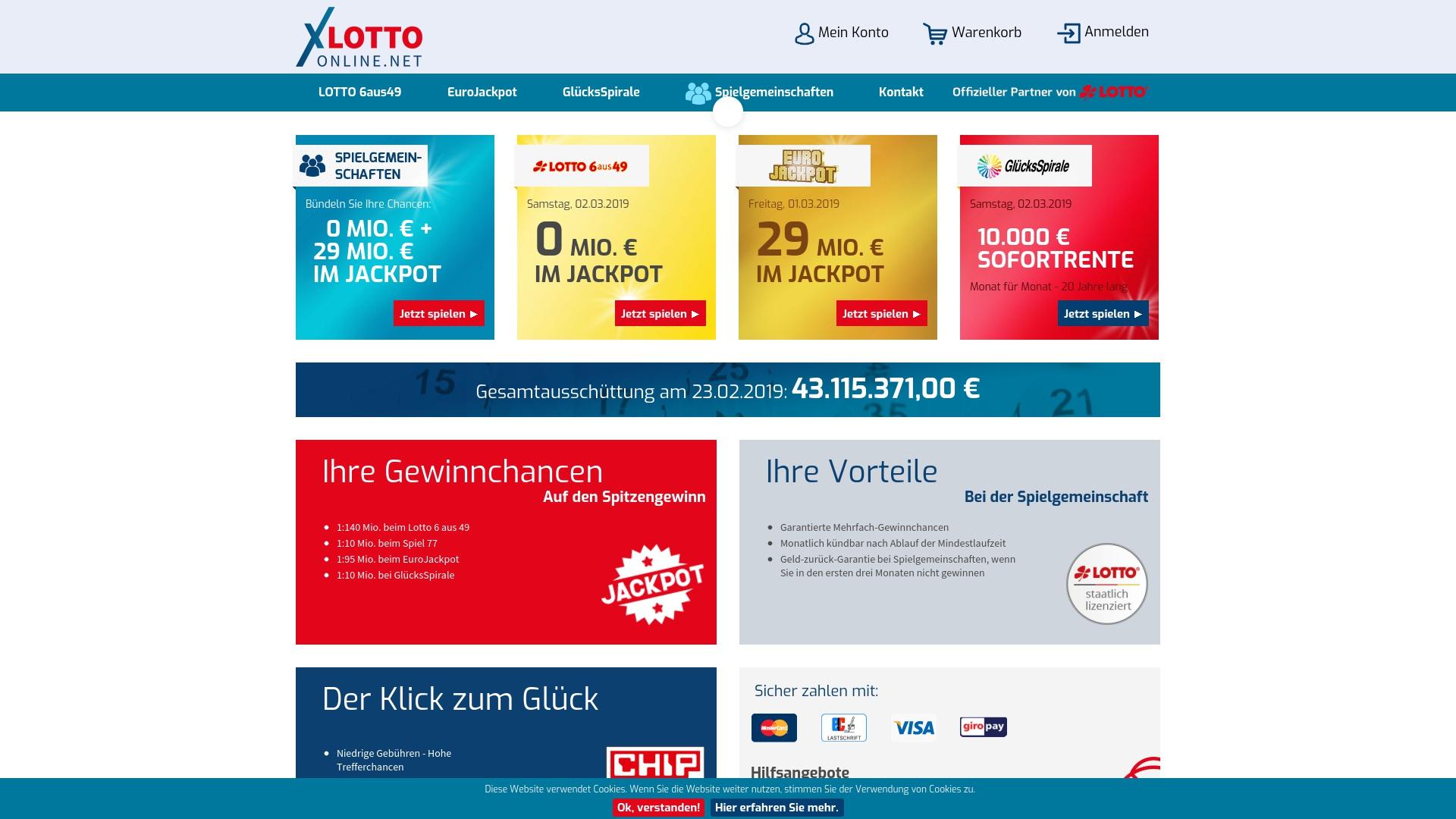 Gutschein für Lotto-online: Rabatte für  Lotto-online sichern