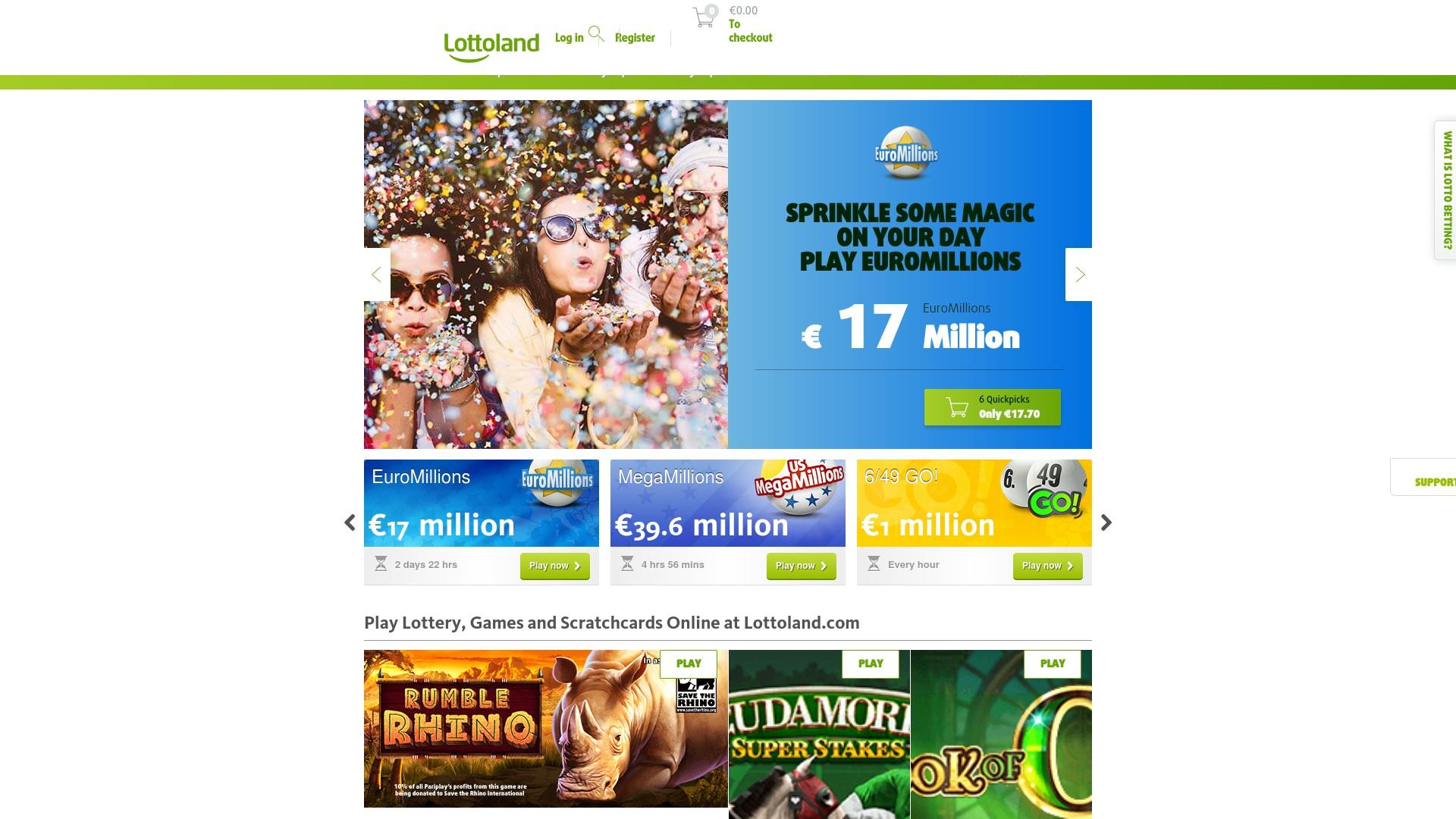 Gutschein für Lottoland: Rabatte für  Lottoland sichern