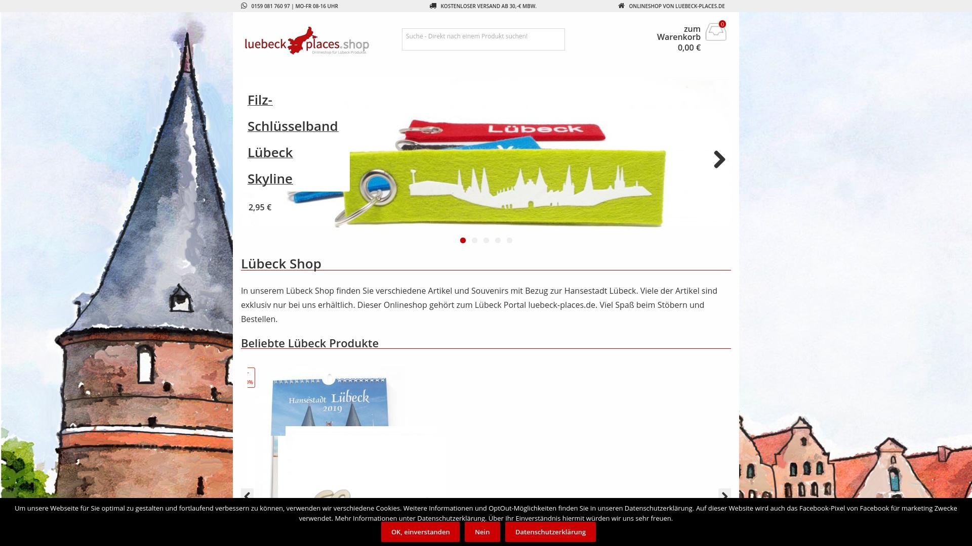 Gutschein für Luebeck-places: Rabatte für  Luebeck-places sichern