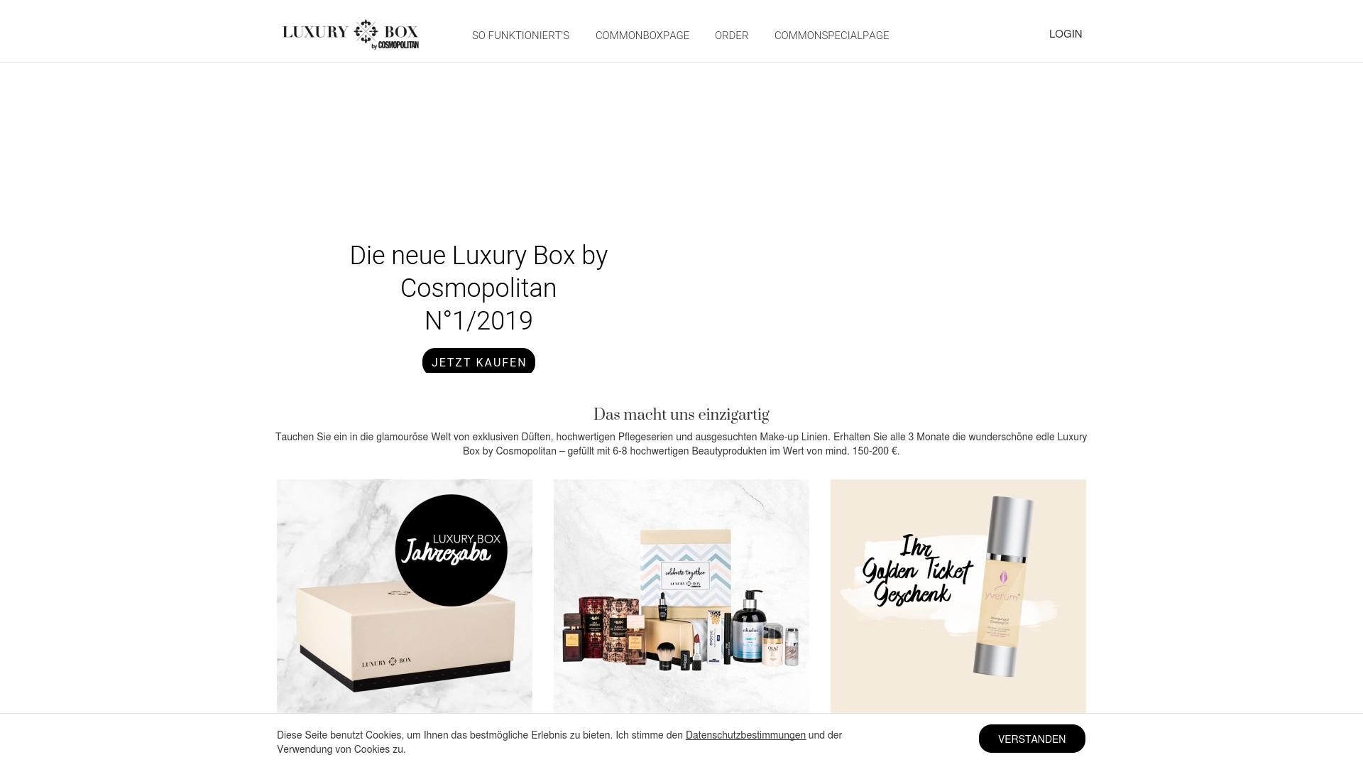 Gutschein für Luxurybox: Rabatte für  Luxurybox sichern