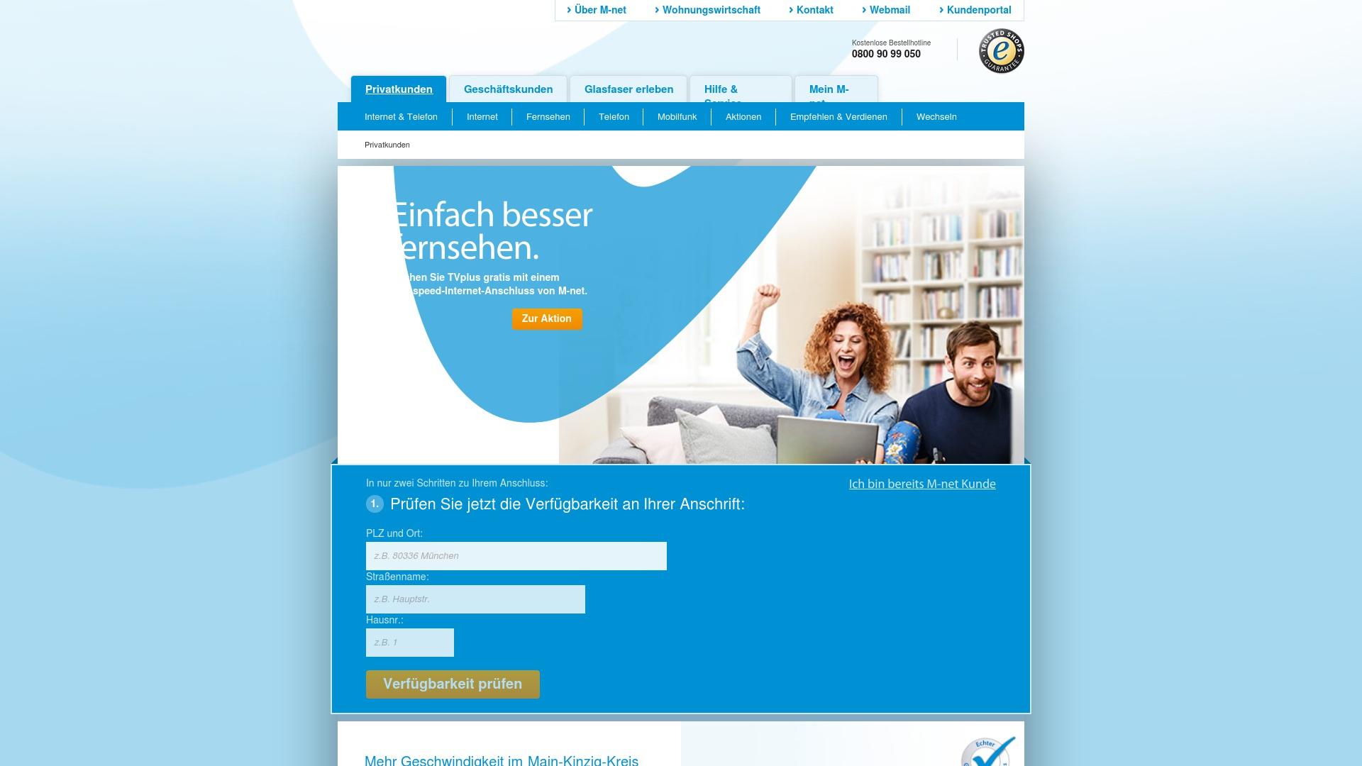 Gutschein für M-net: Rabatte für  M-net sichern
