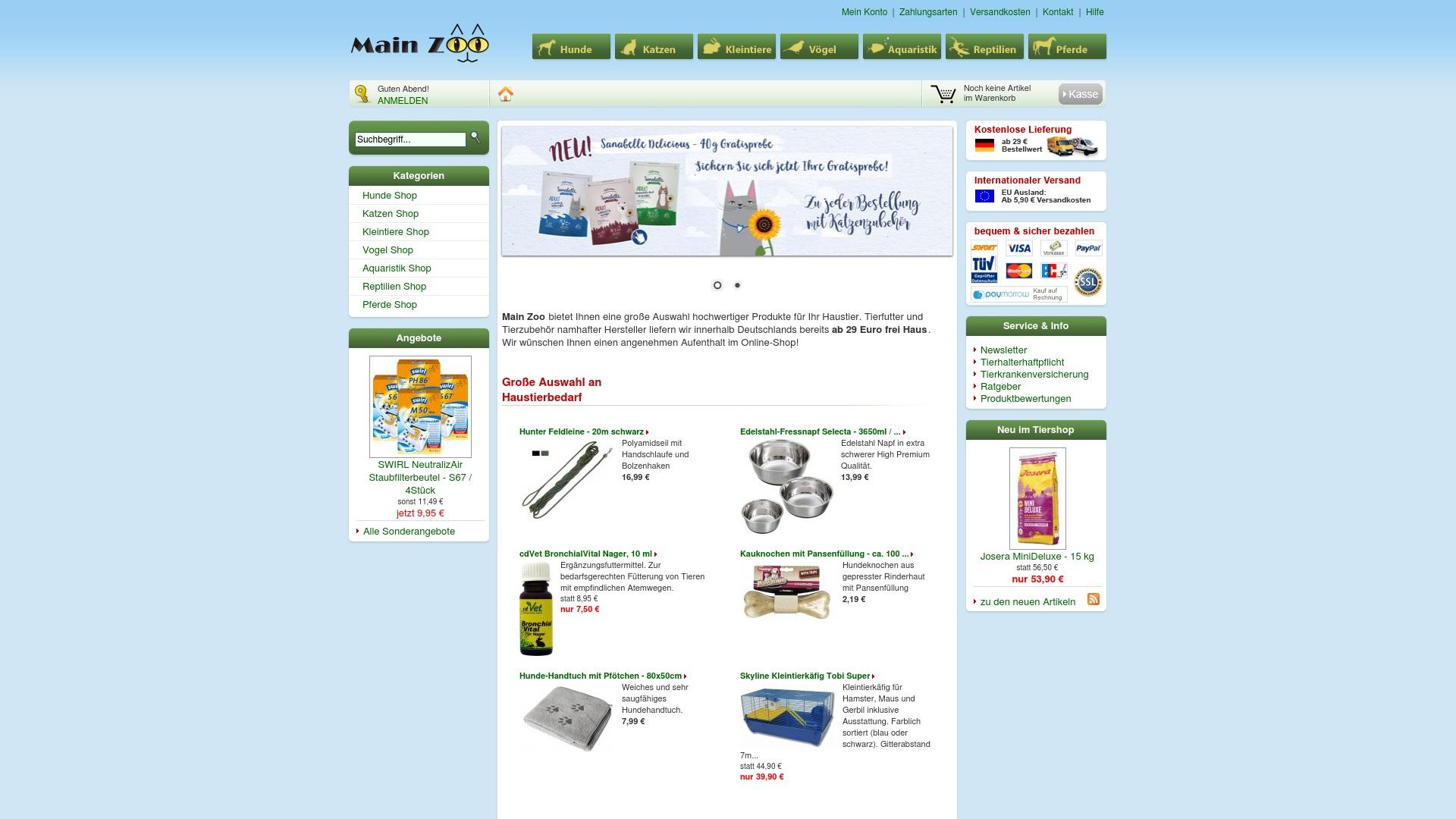 Gutschein für Mainzoo: Rabatte für  Mainzoo sichern