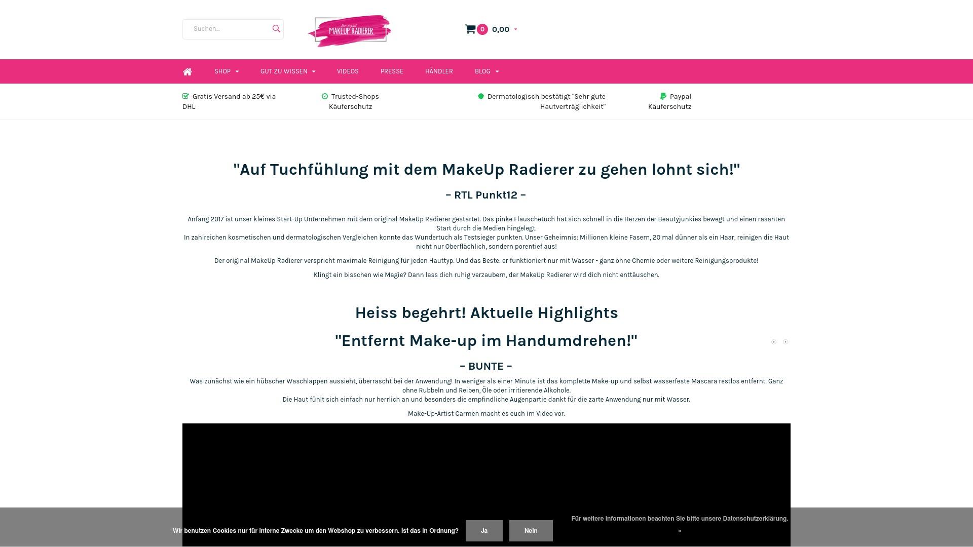 Gutschein für Makeupradierer: Rabatte für  Makeupradierer sichern