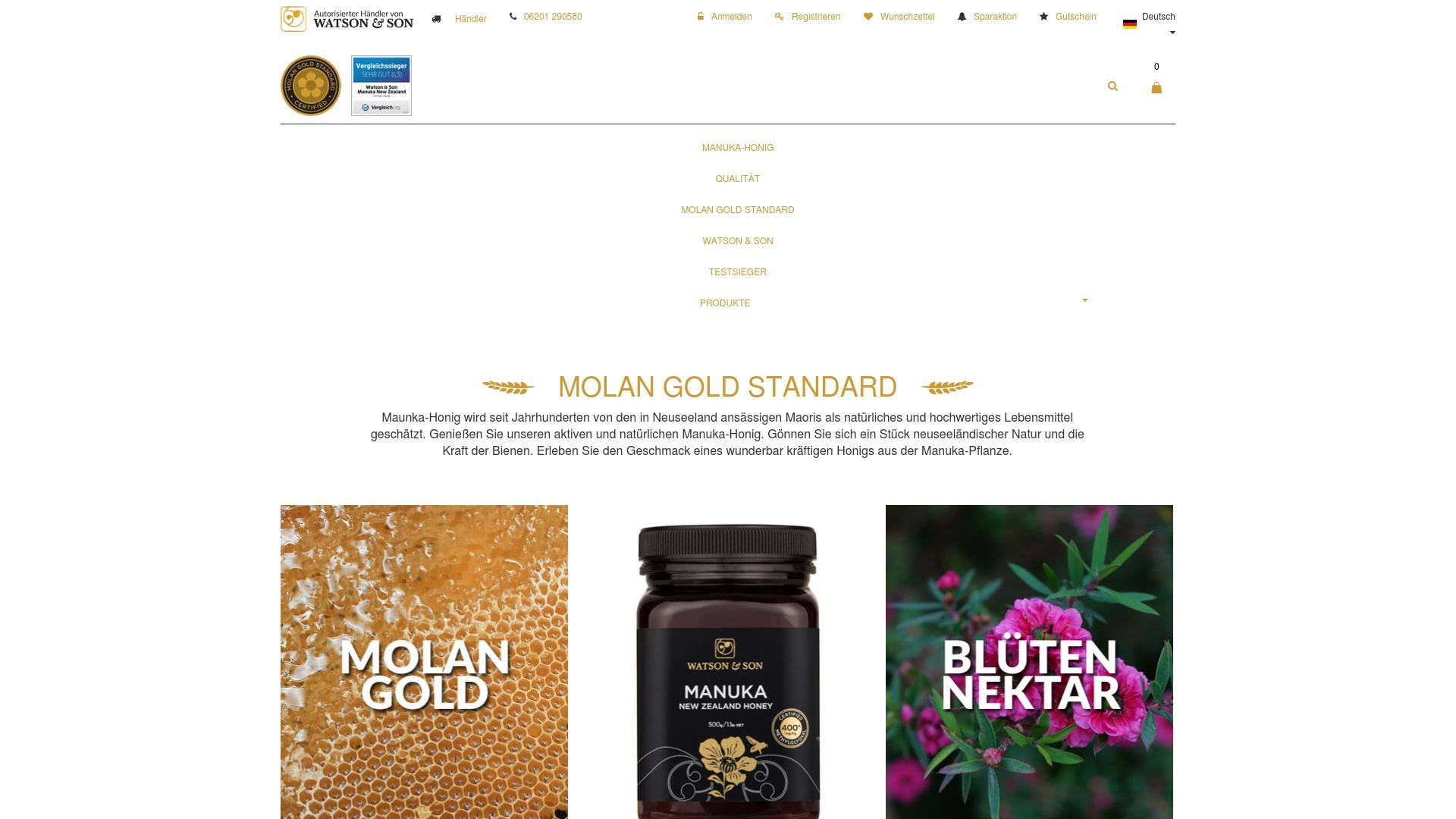 Gutschein für Manuka-honig: Rabatte für  Manuka-honig sichern