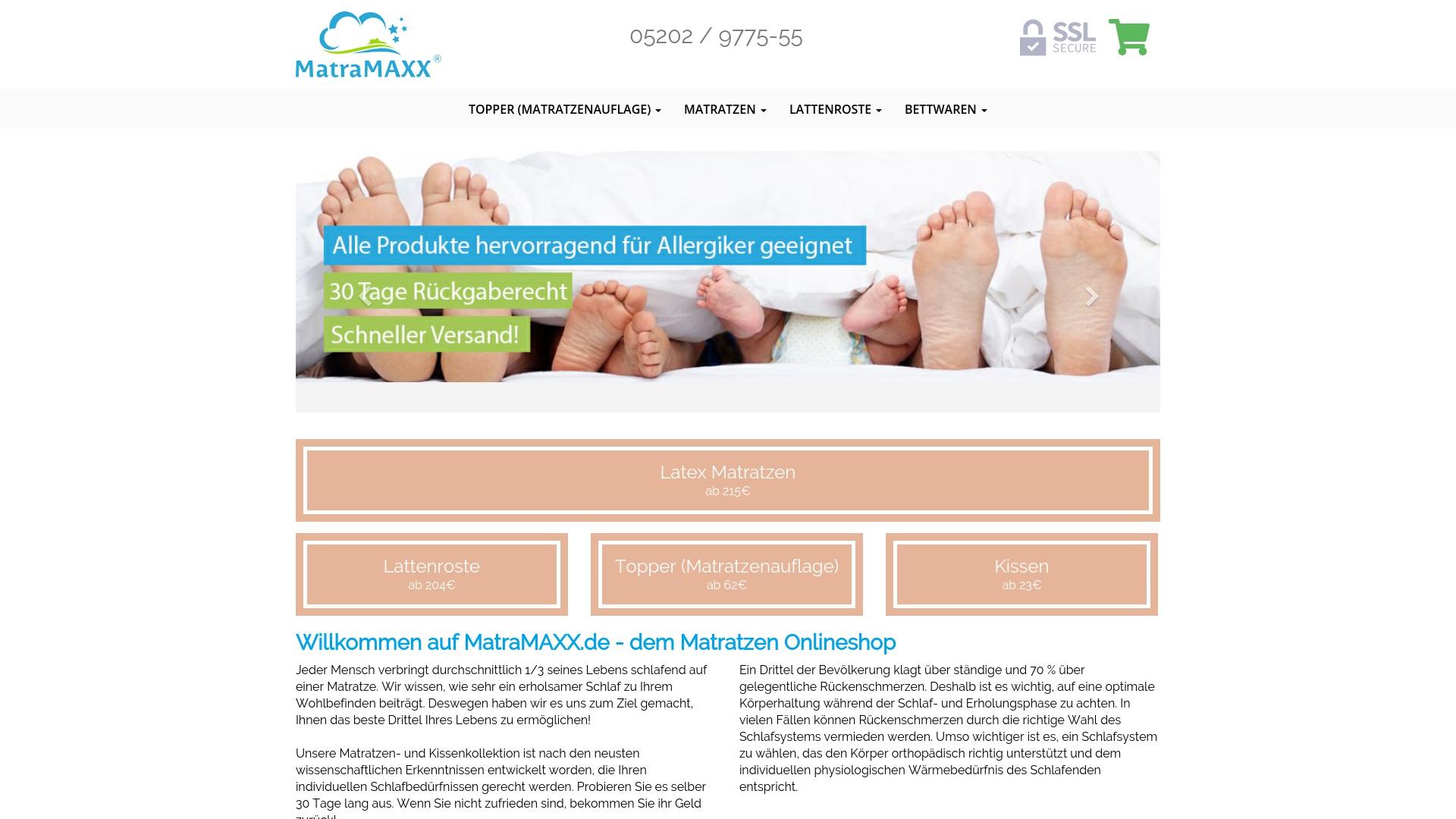 Gutschein für Matramaxx: Rabatte für  Matramaxx sichern