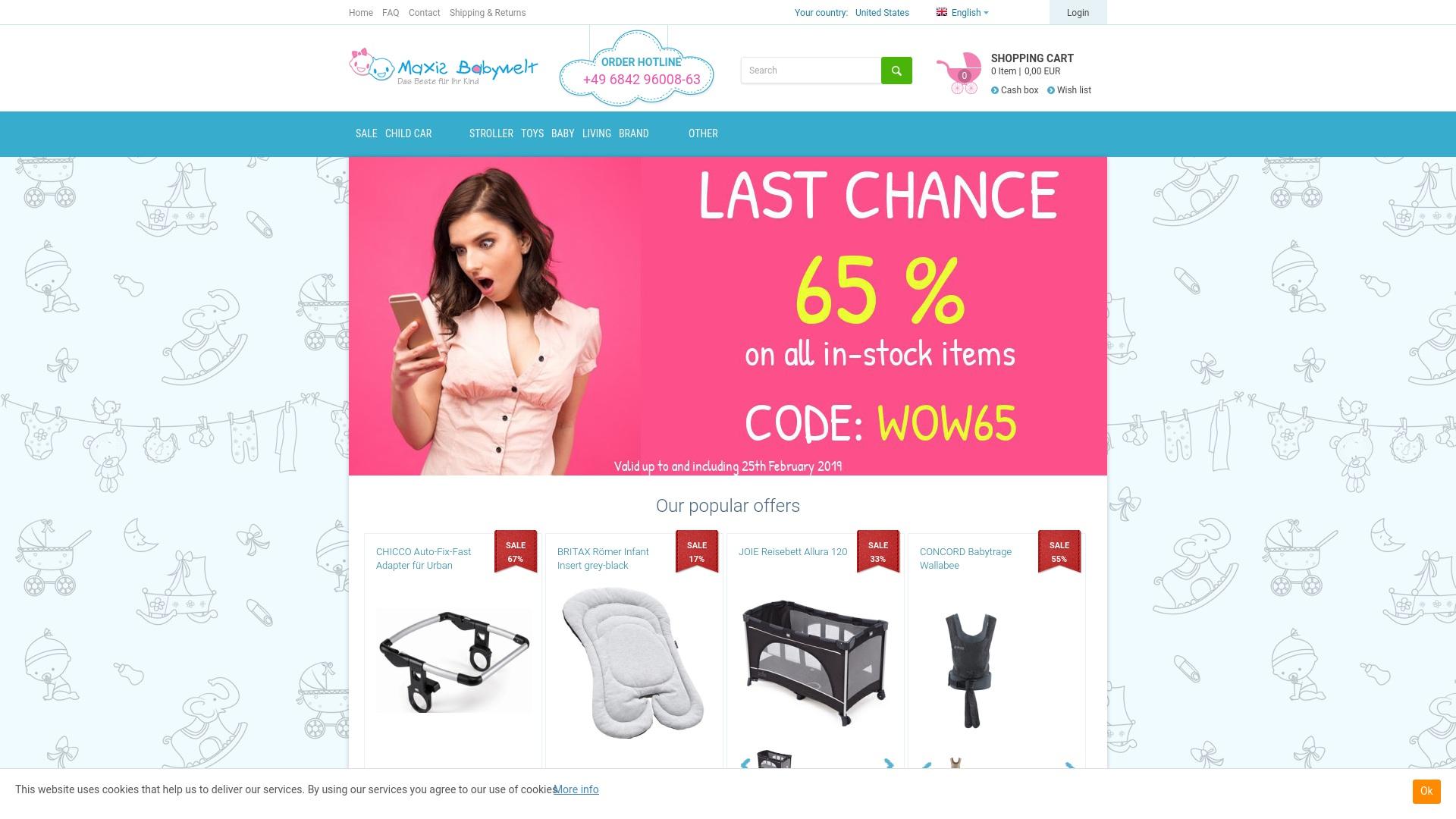 Gutschein für Maxis-babywelt: Rabatte für  Maxis-babywelt sichern