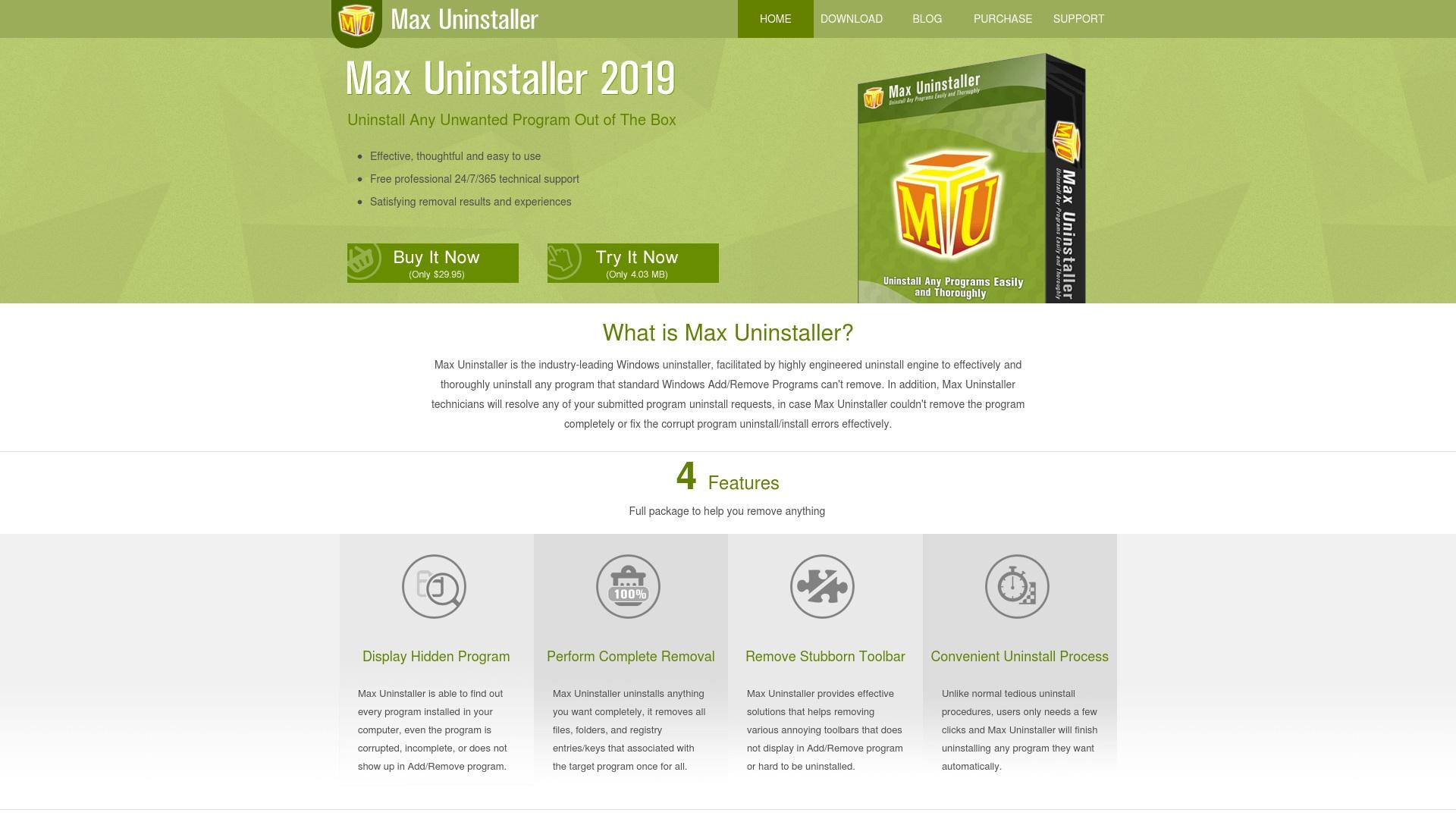 Gutschein für Maxuninstaller: Rabatte für  Maxuninstaller sichern