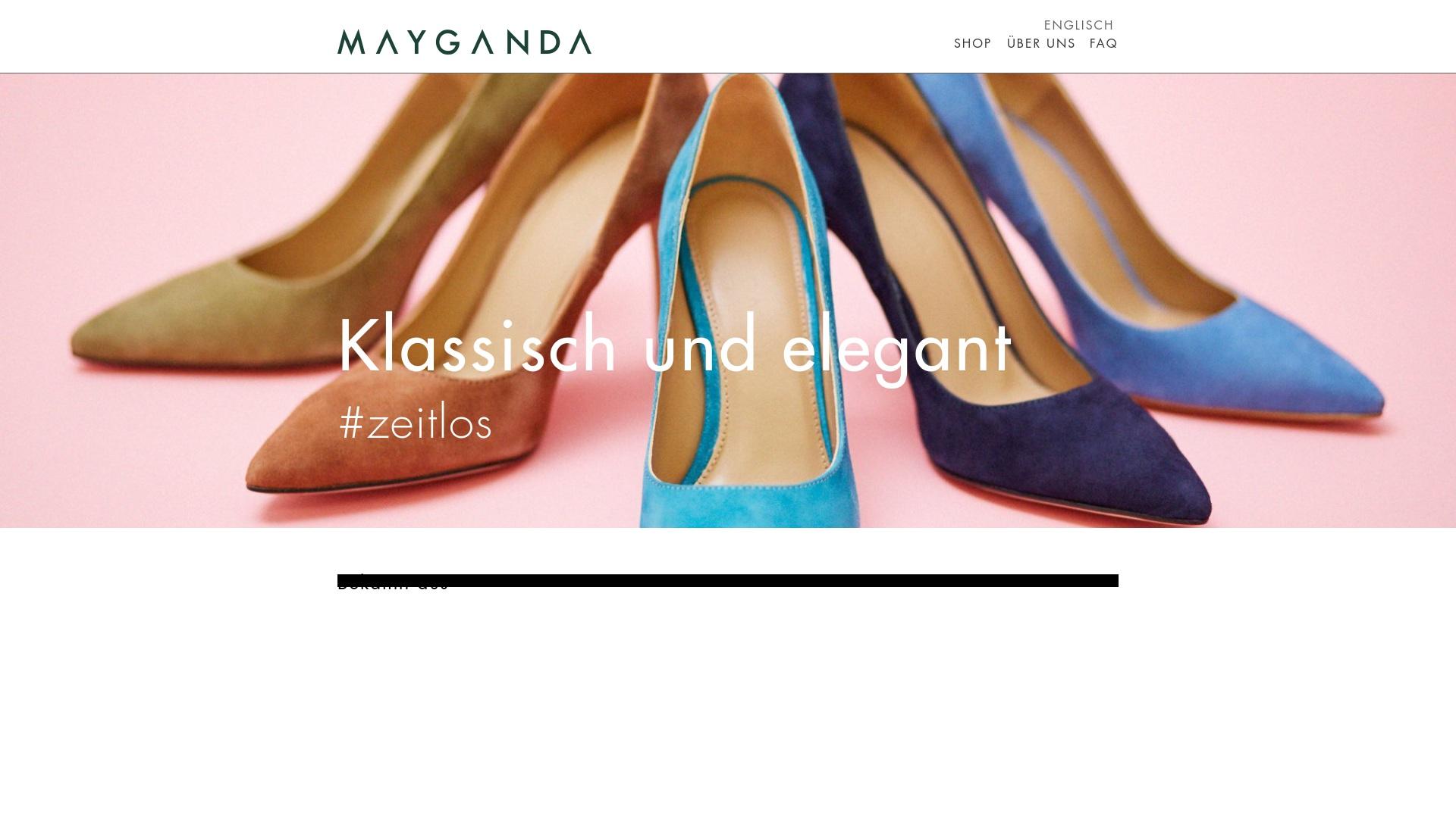 Gutschein für Mayganda: Rabatte für  Mayganda sichern