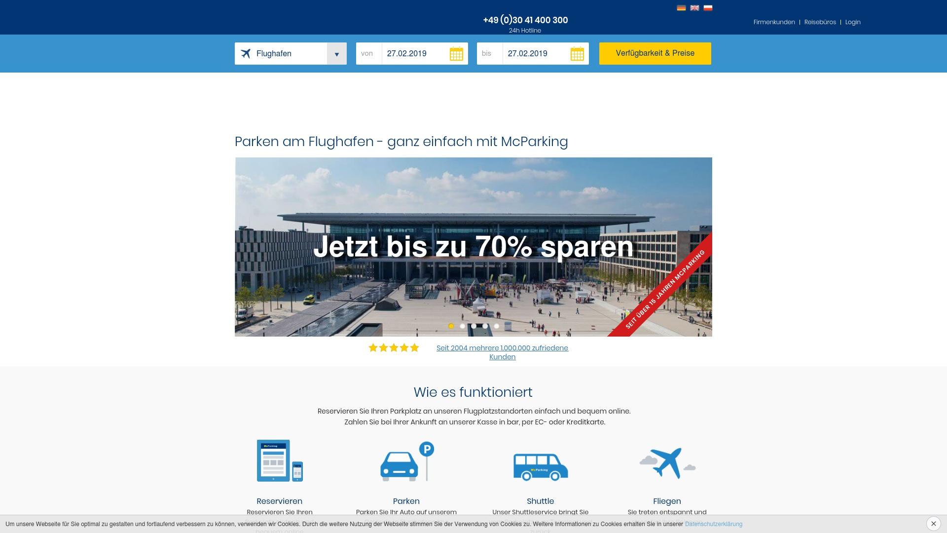 Gutschein für Mcparking: Rabatte für  Mcparking sichern