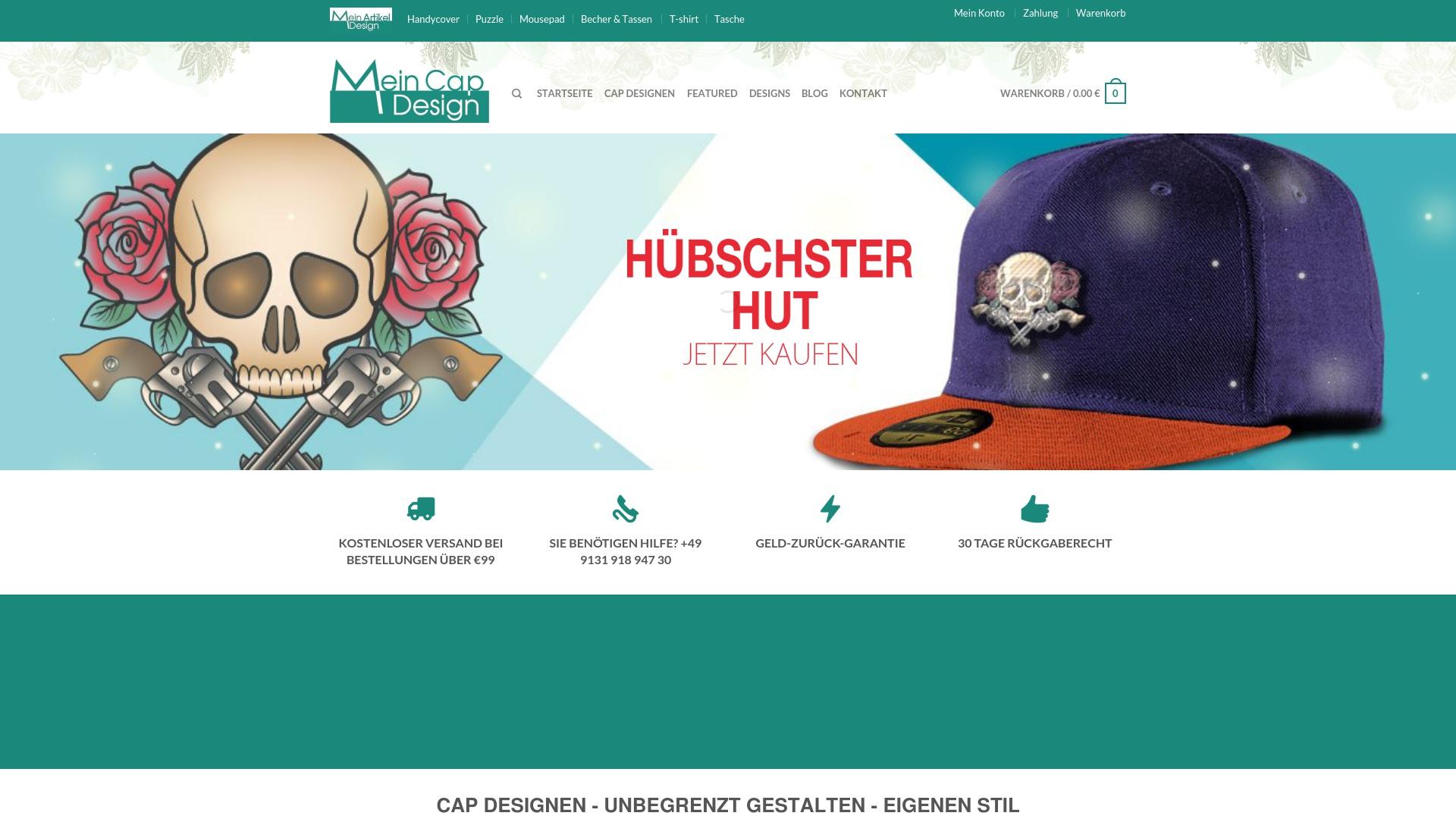 Gutschein für Mein-cap-design: Rabatte für  Mein-cap-design sichern