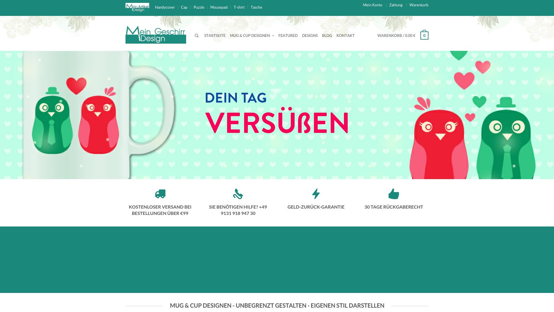 Gutschein für Mein-geschirr-design: Rabatte für  Mein-geschirr-design sichern